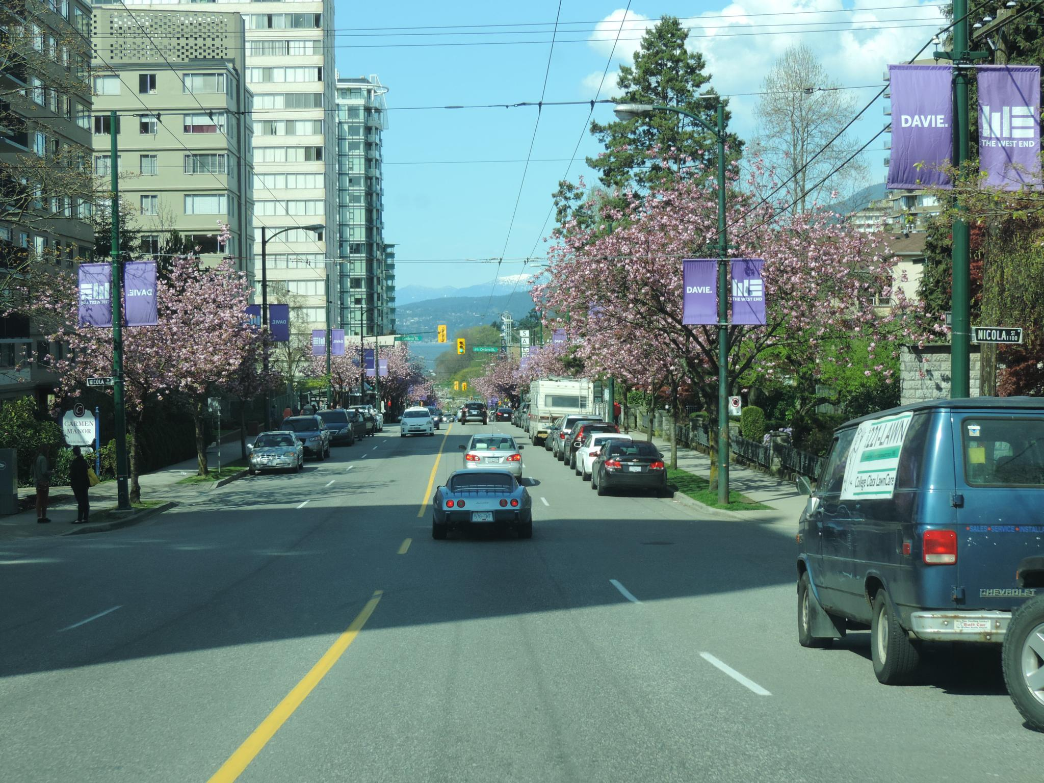 Davie Street, Vancouver. by henrywall63