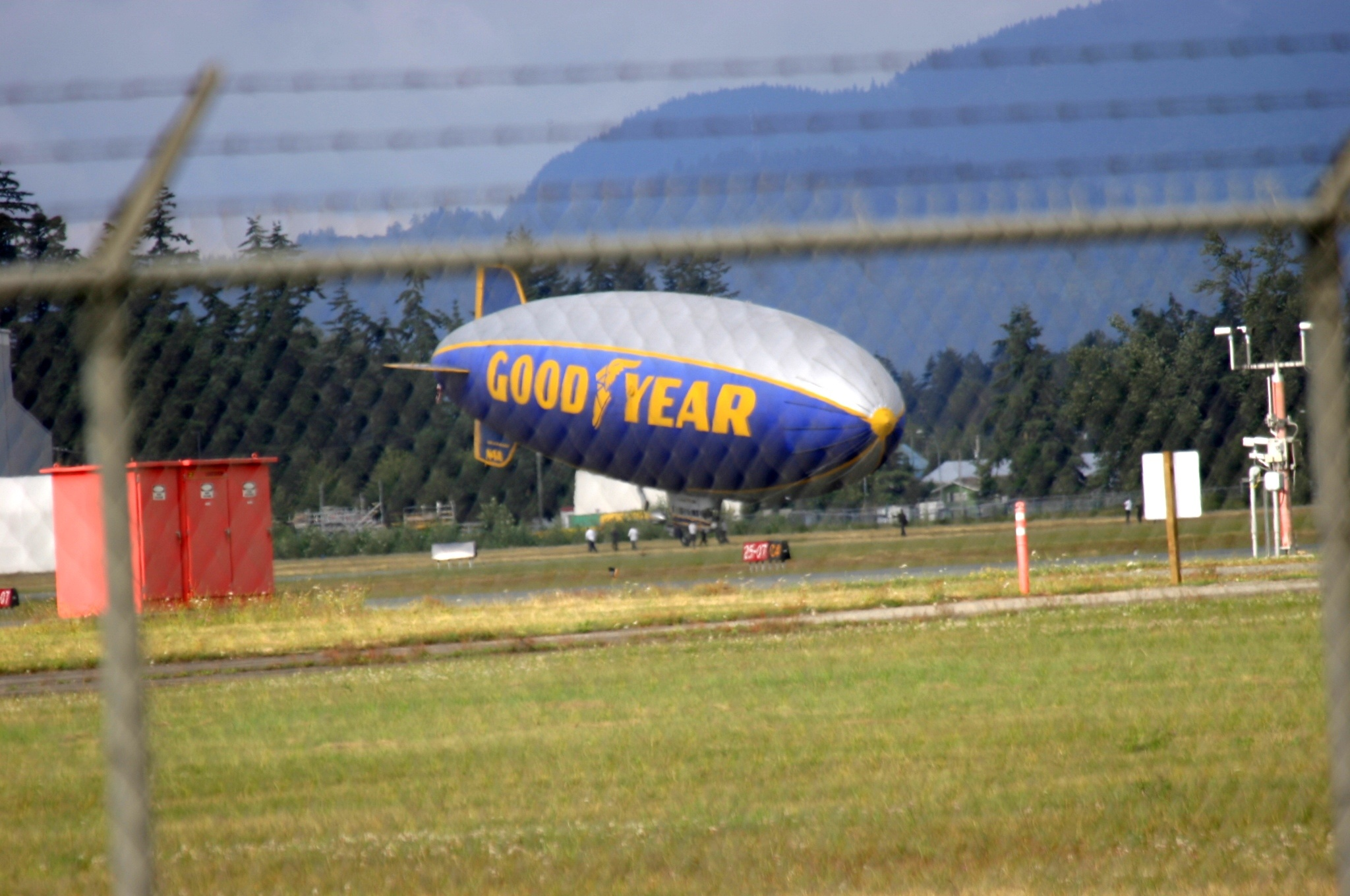 The Blimp has Landed. by henrywall63