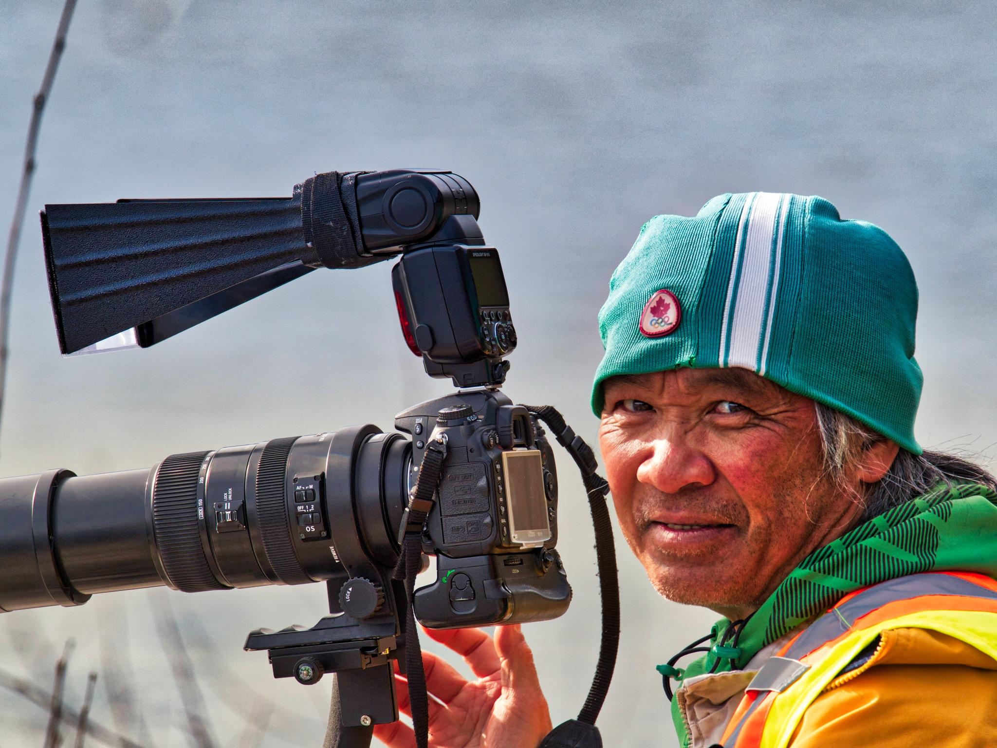 The Happy Photographer II by Evan Spellman