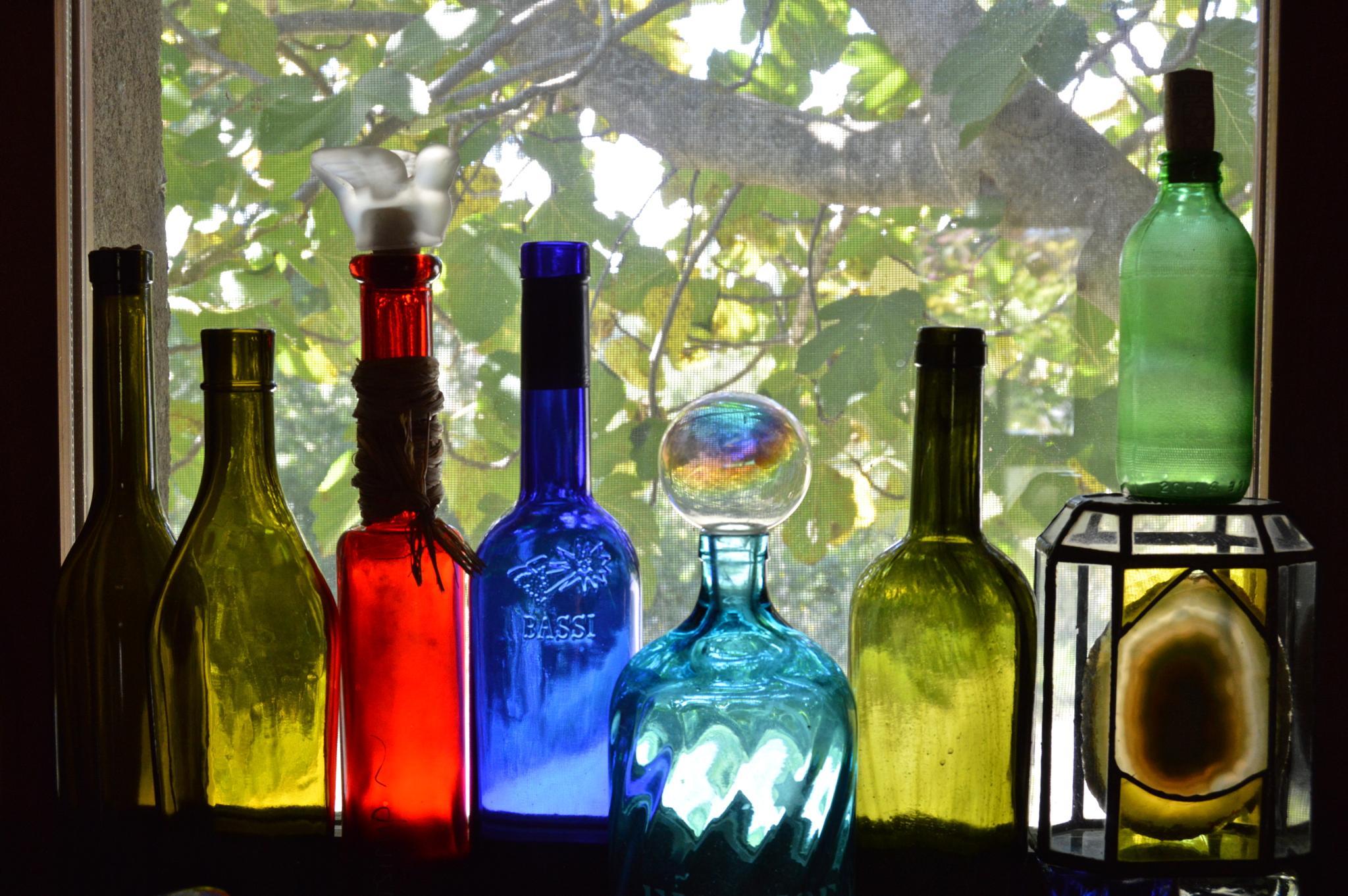 Bottles by murielbarbero