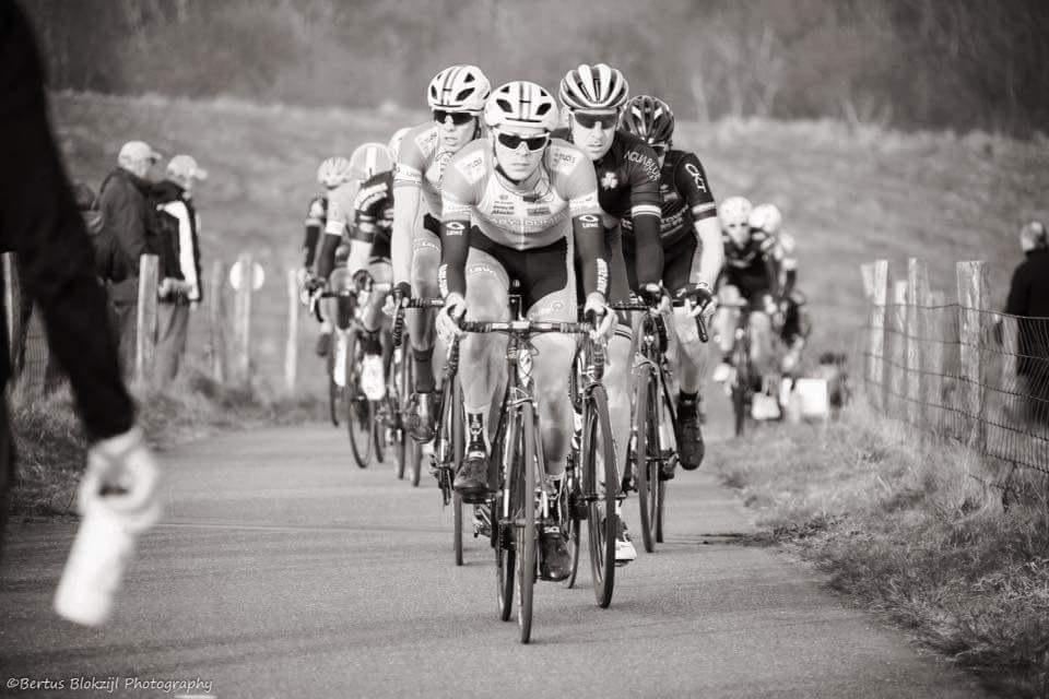 bicycle race by Bertus Blokzijl