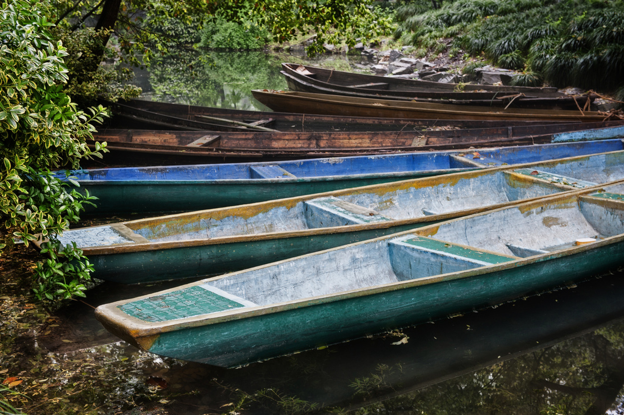 Chinese gondolas by Neil Morgan
