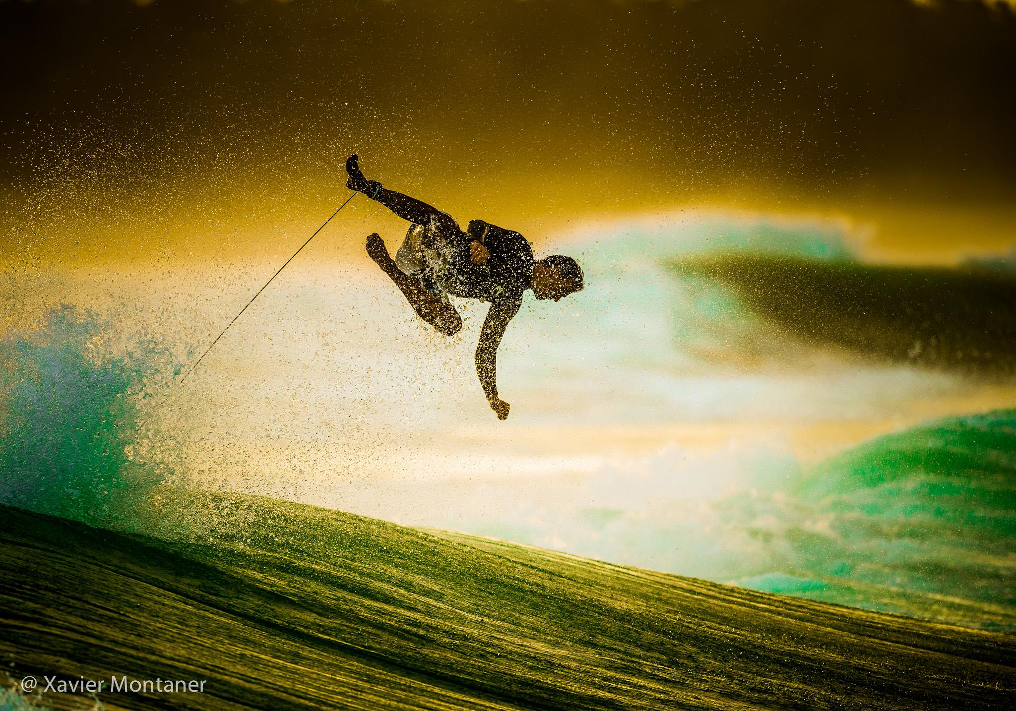Photo in Sea and Sand #waves #surf #surfing #flying