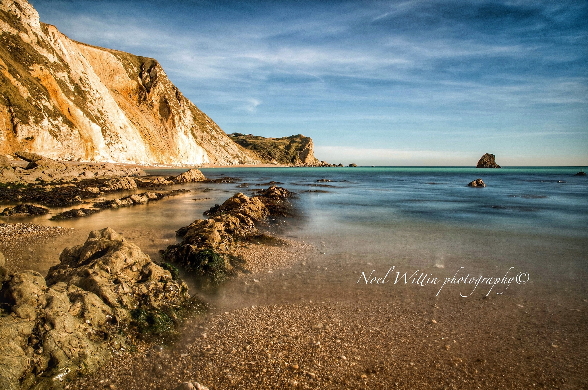 Man o war bay, Dorset uk. by noel.wittin