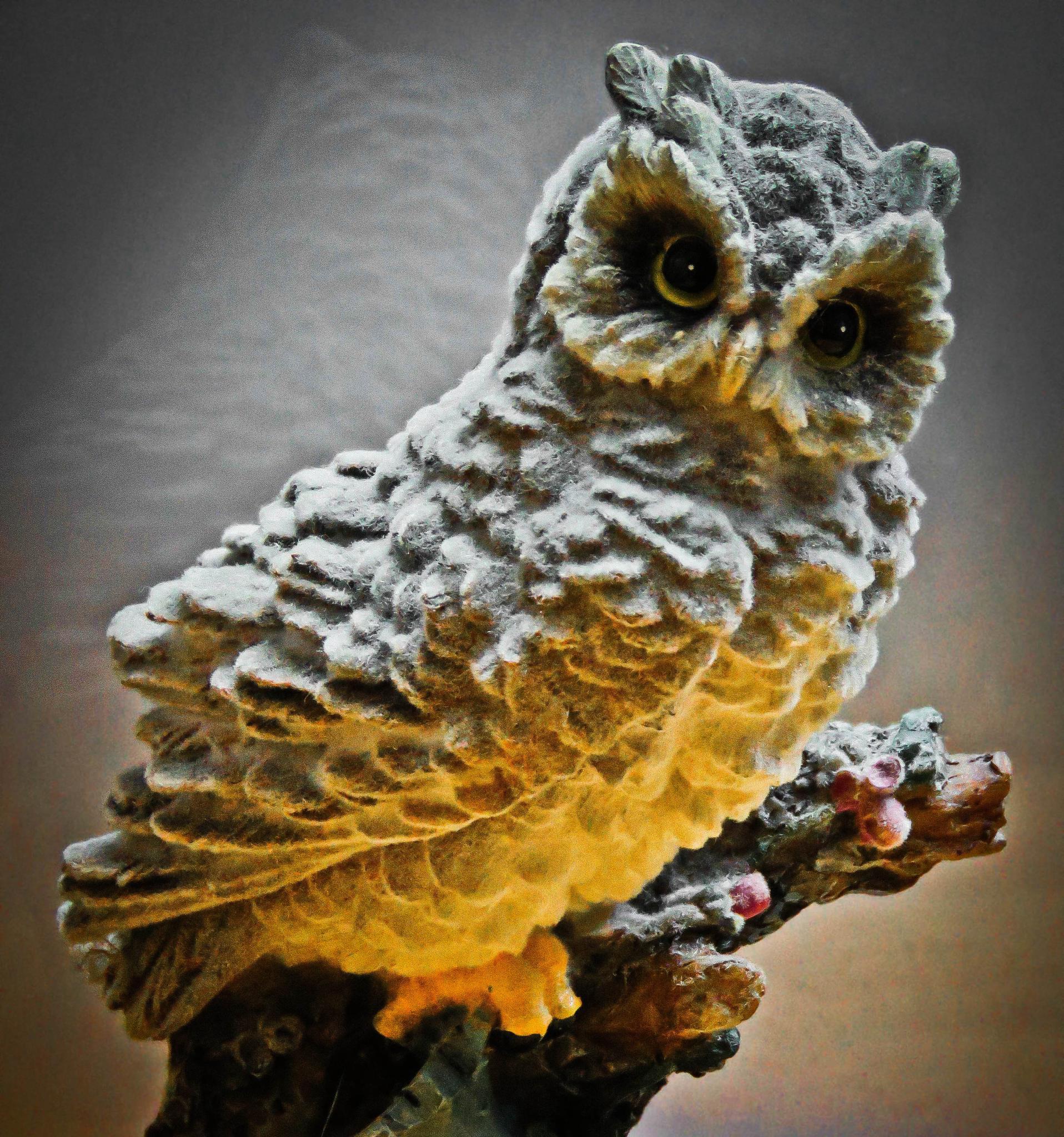 Toy owl by Andreja Križevac