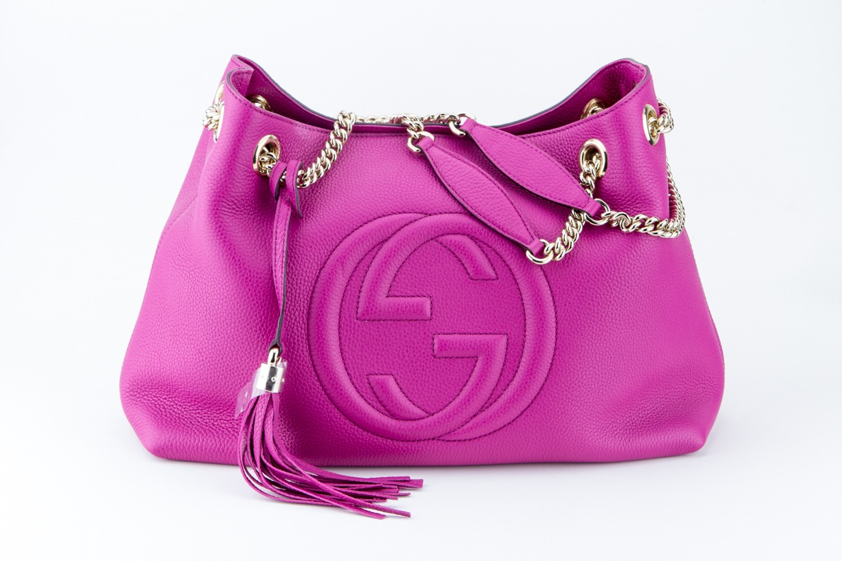 Gucci purse in pink by Jay Kenneth Usselman