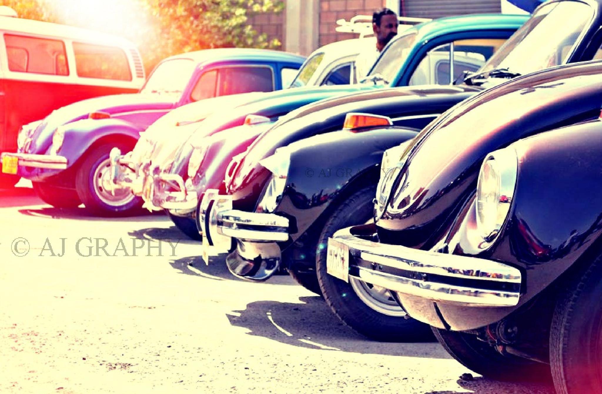 Volkwagen Beetle (Foxy) by AJ GRAPHY
