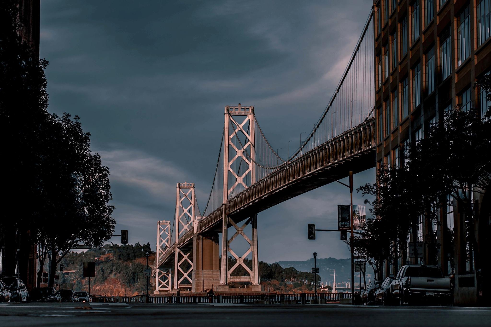 The Bay Bridge  by Hanif Khosravi