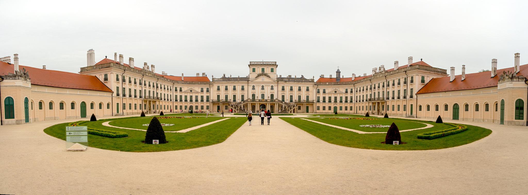 Esterházy-kastély Fertőd by Laszlo J.Kremmer