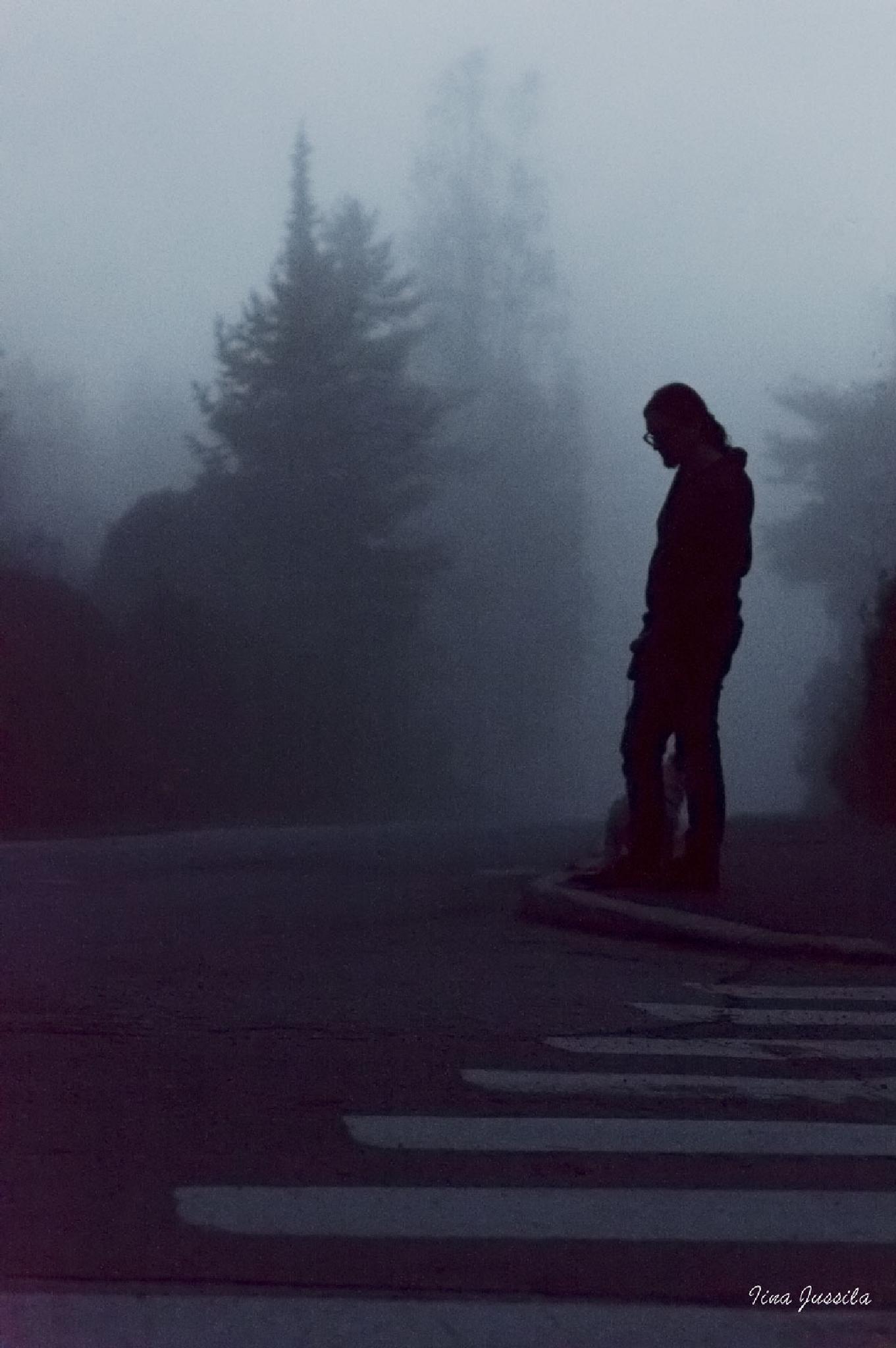 Misty night by Iina Jussila