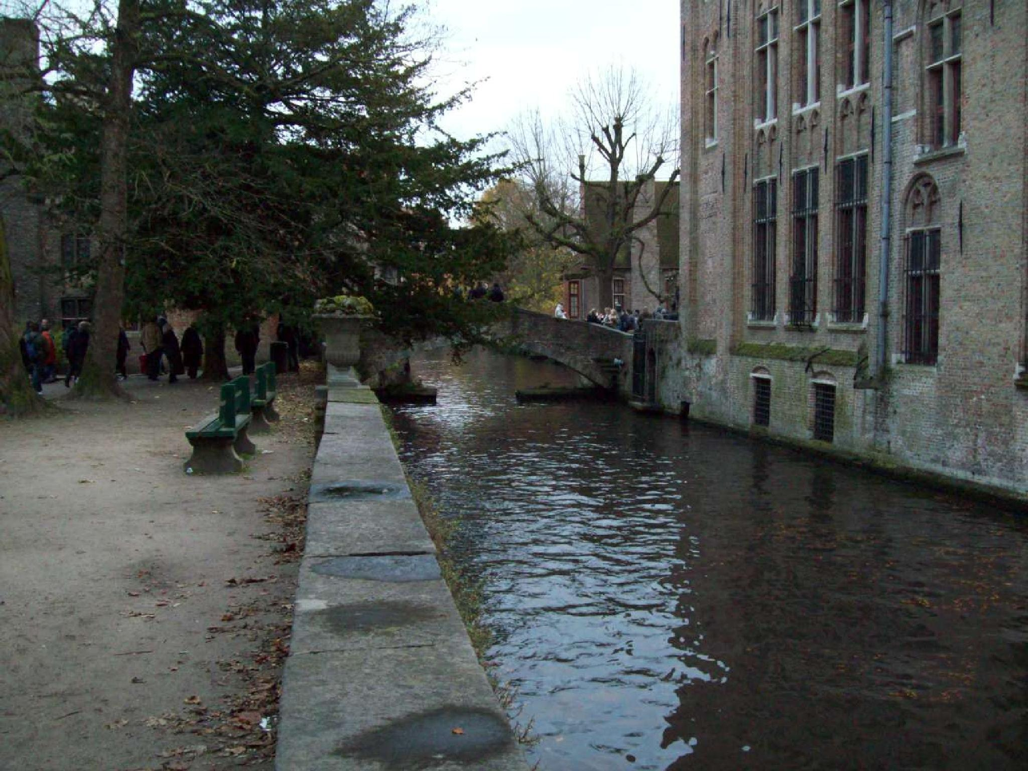 Looks cold and wet, Bruges at it's best by Lana-D (GMT+1)