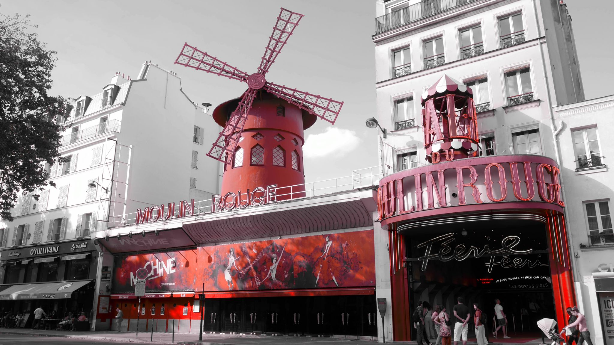 Moulin Rouge by Jean No