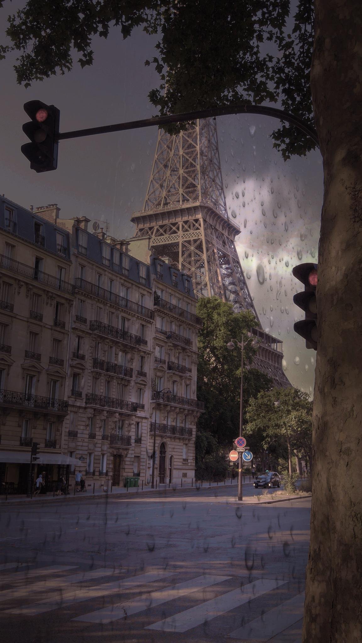 Somewhere in Paris by Jean No