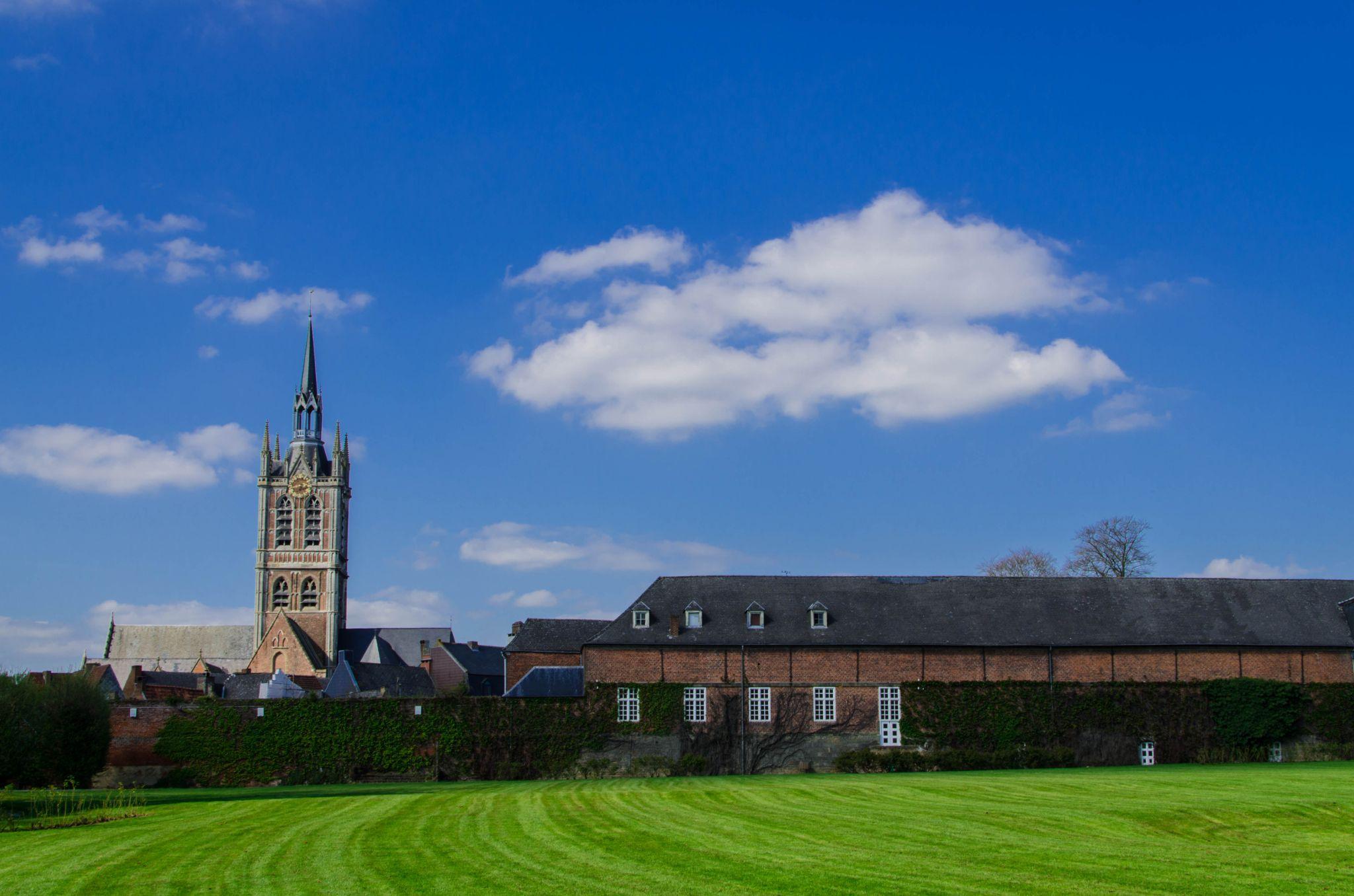 Enghien's church by metitloup