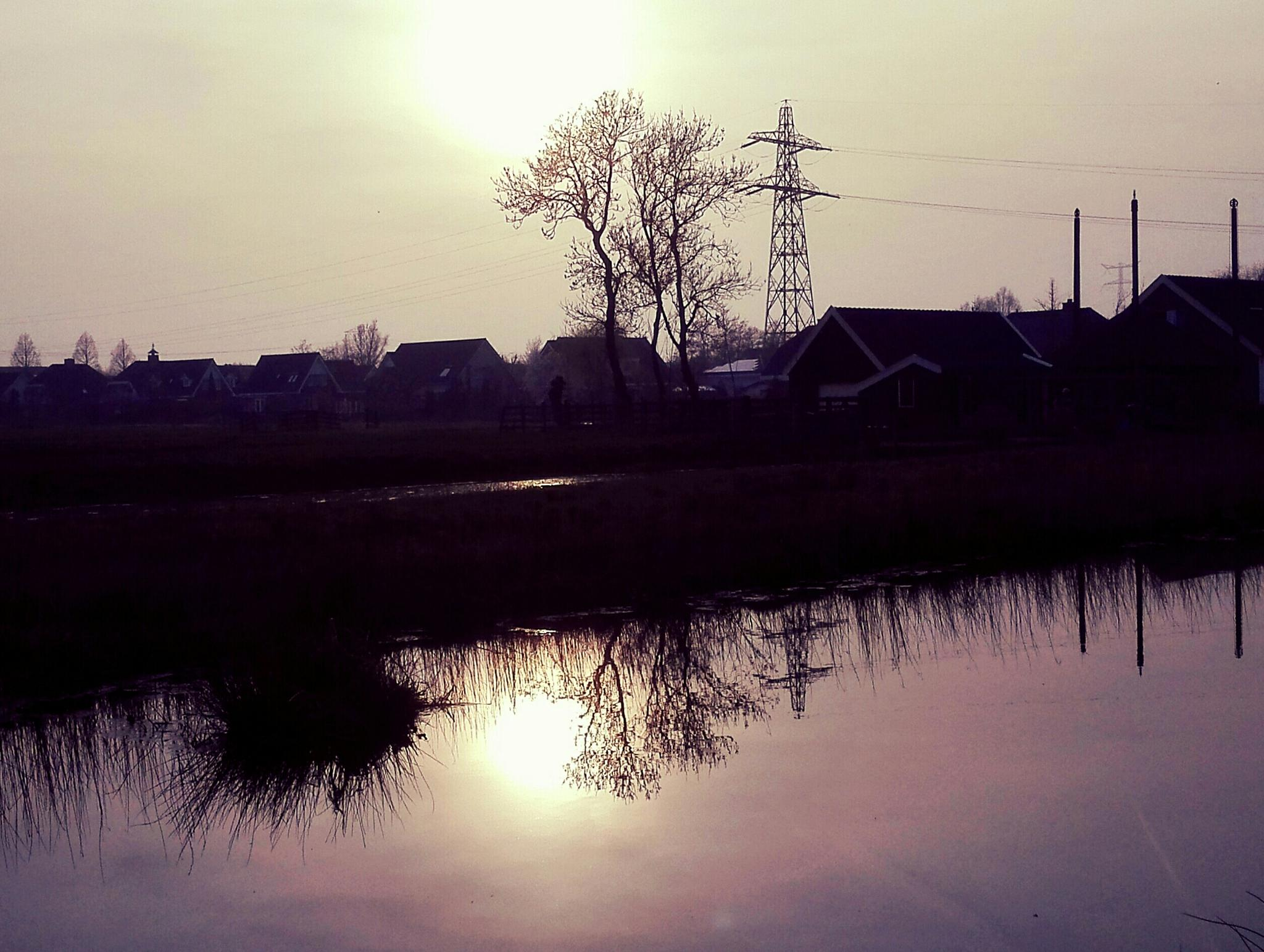 Sunset Reflection  by mariska.dejong