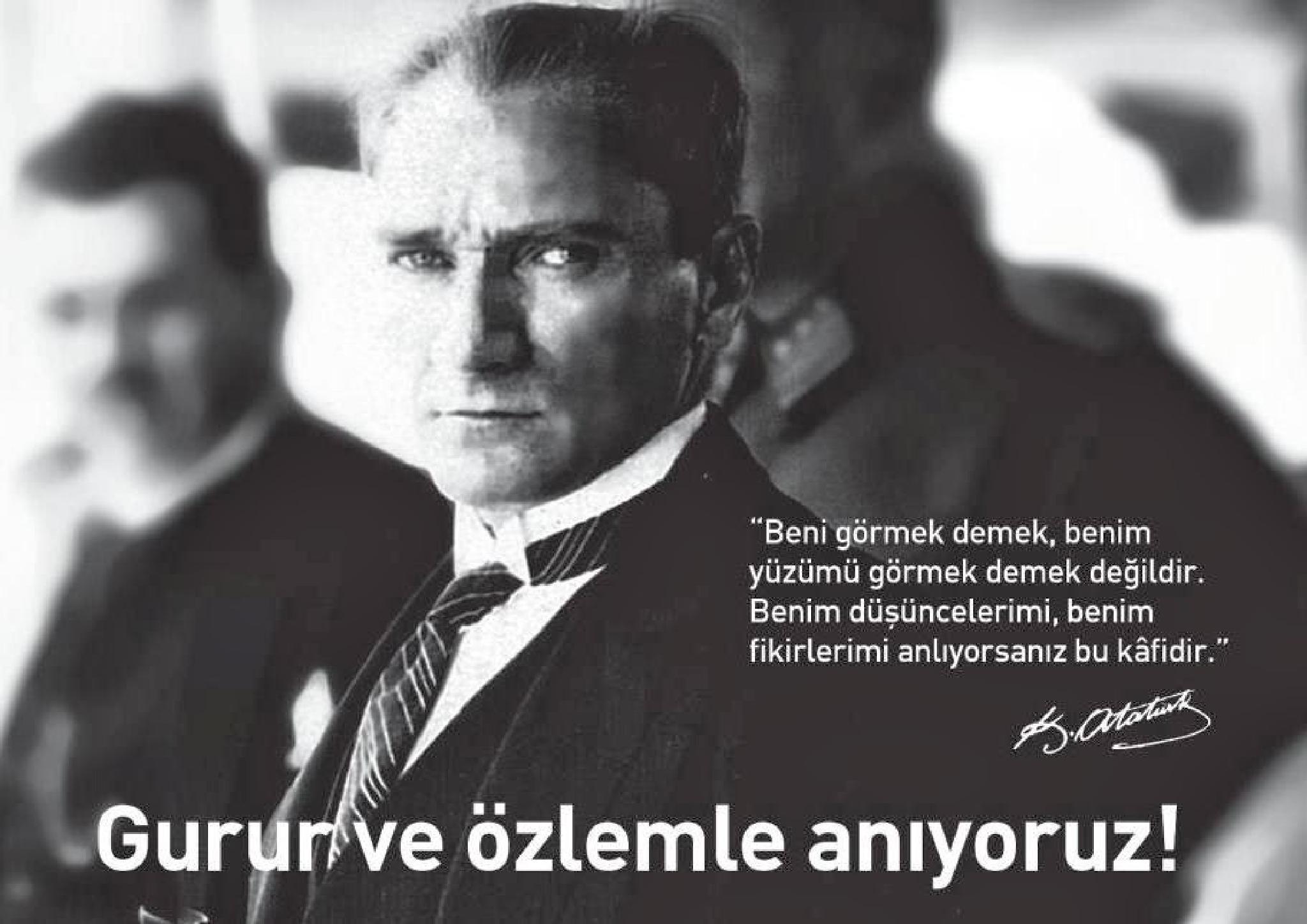 Mustafa Kemal Atatürk by Selvi Gizem Birmo
