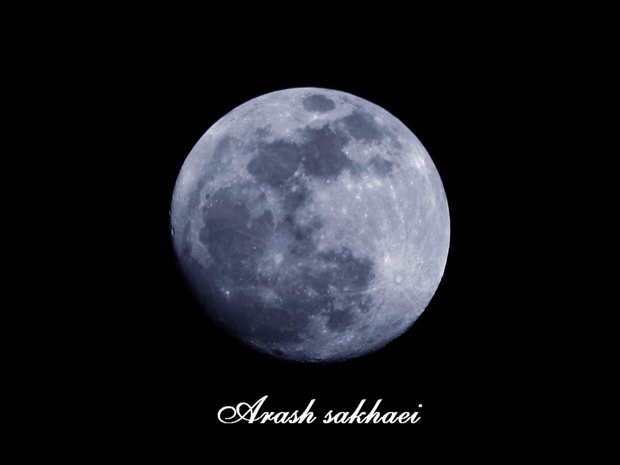 The Moon by arash.sakhaei