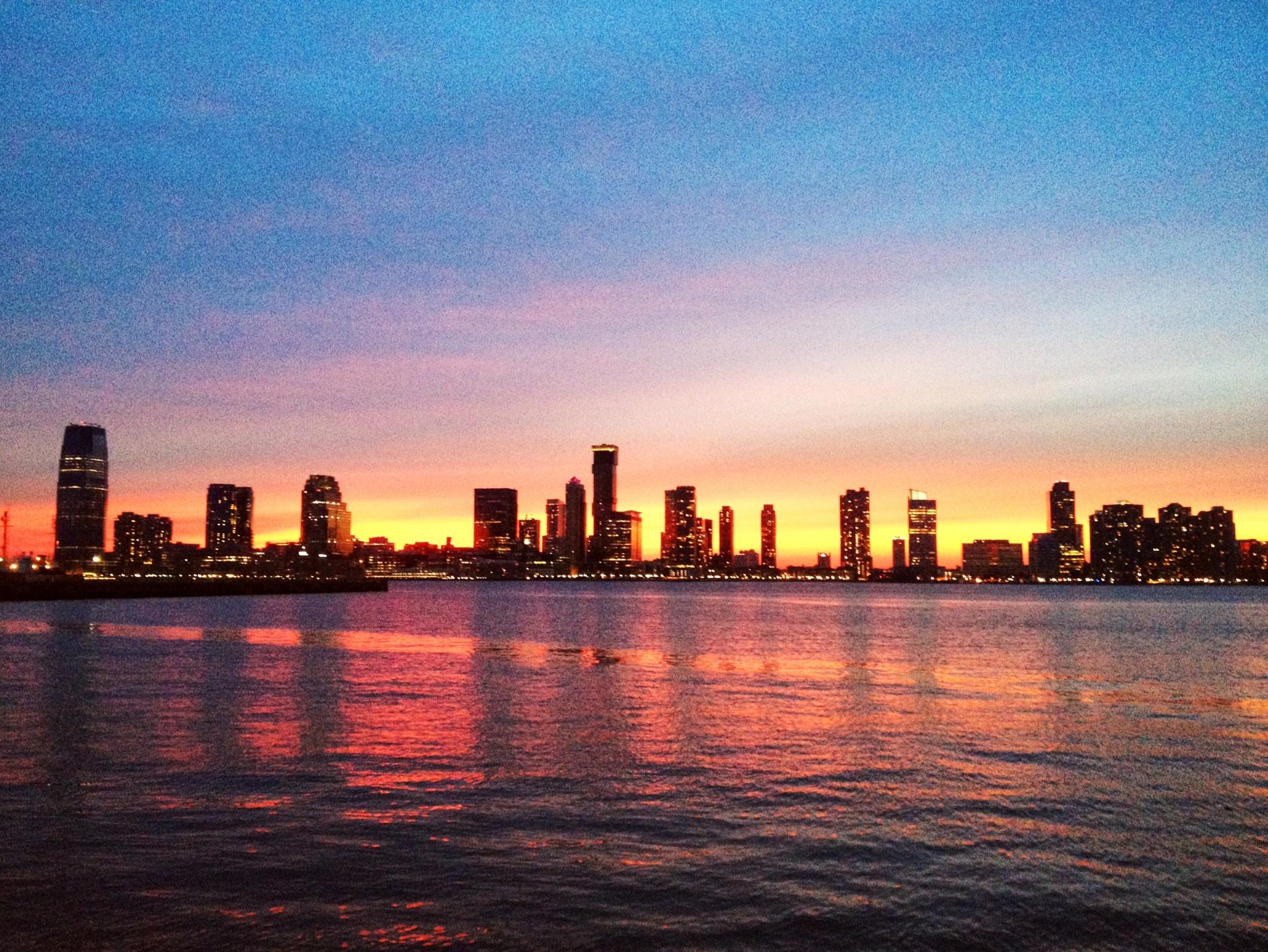 New Jersey sunset by Jostijn Ligtvoet Fotografie