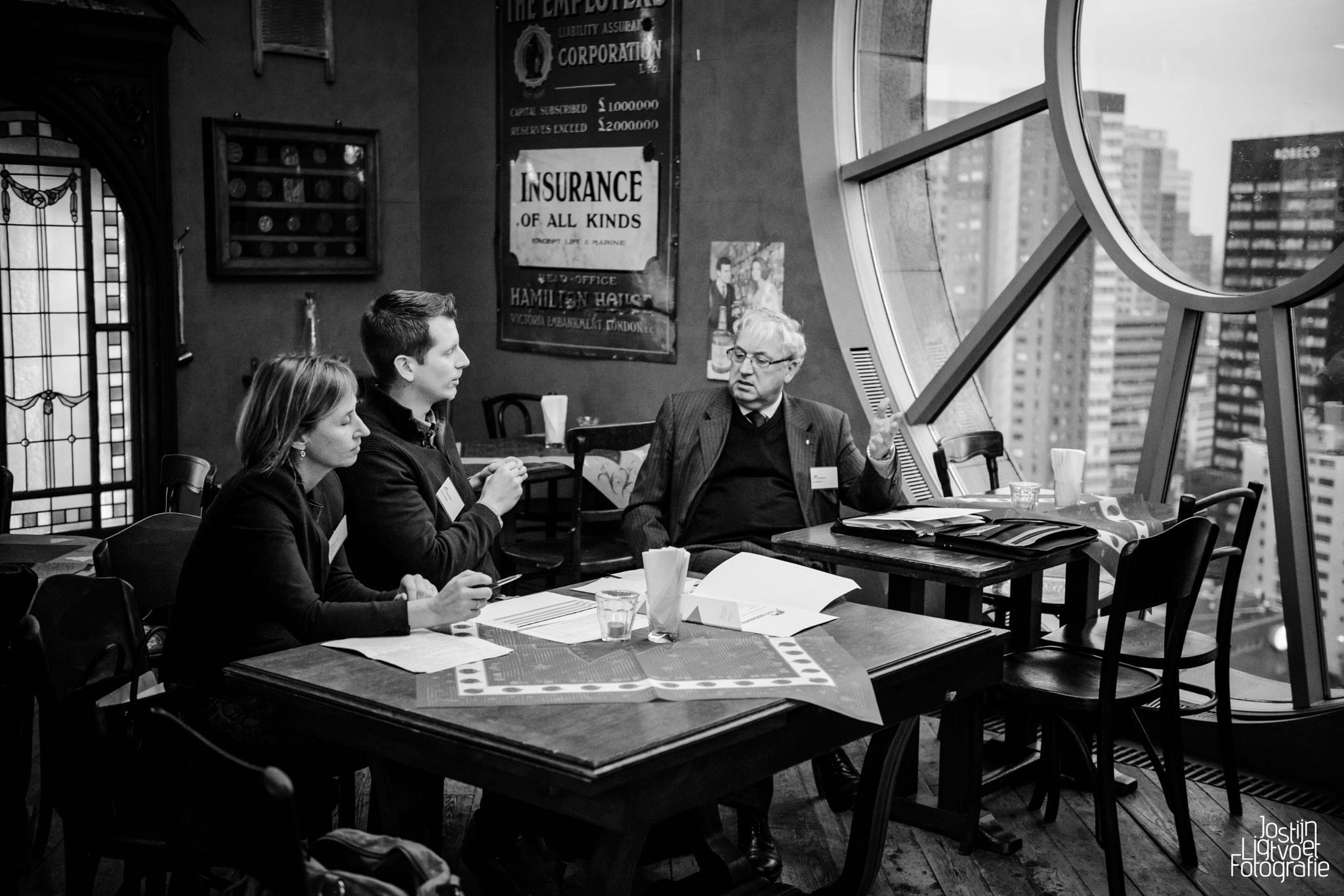 High altitude discussion by Jostijn Ligtvoet Fotografie