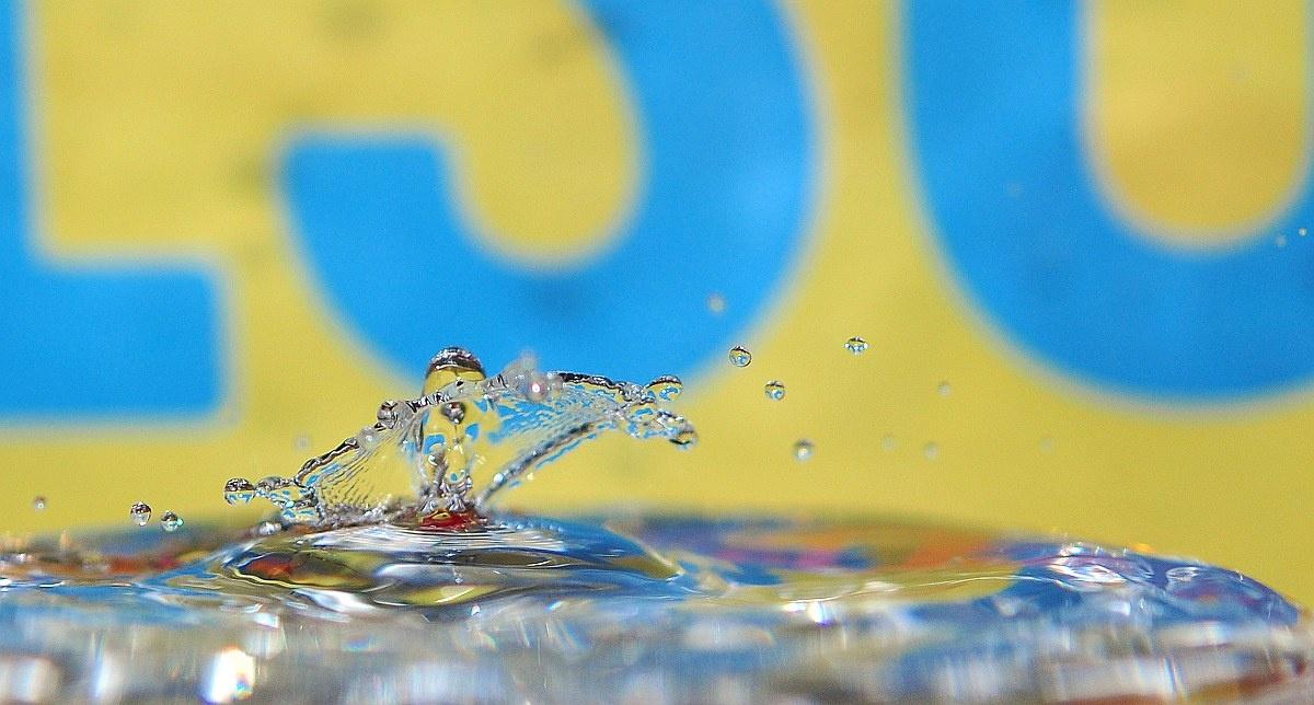 waterdrop letters by paul wante