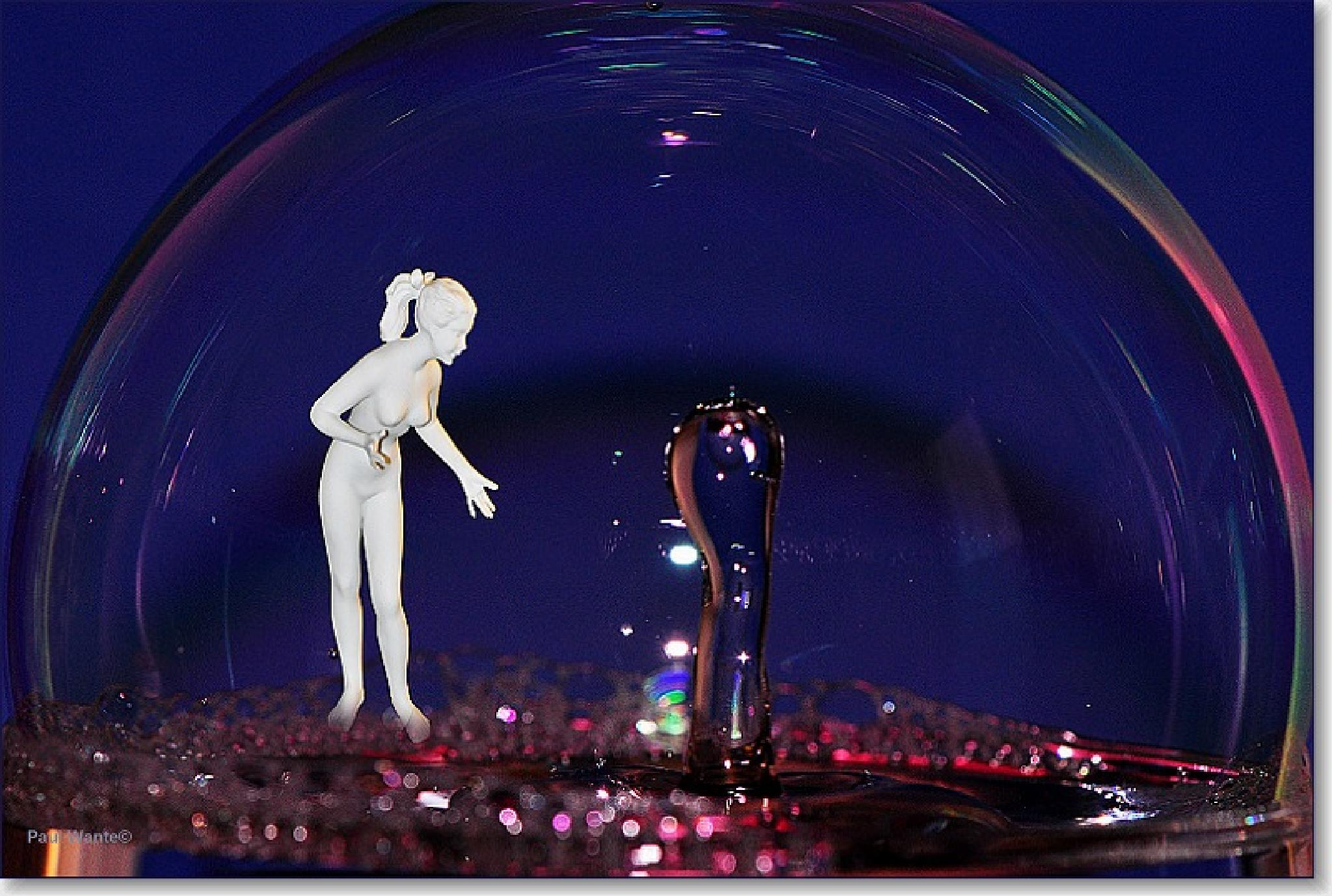 the girl and the waterdrop by paul wante