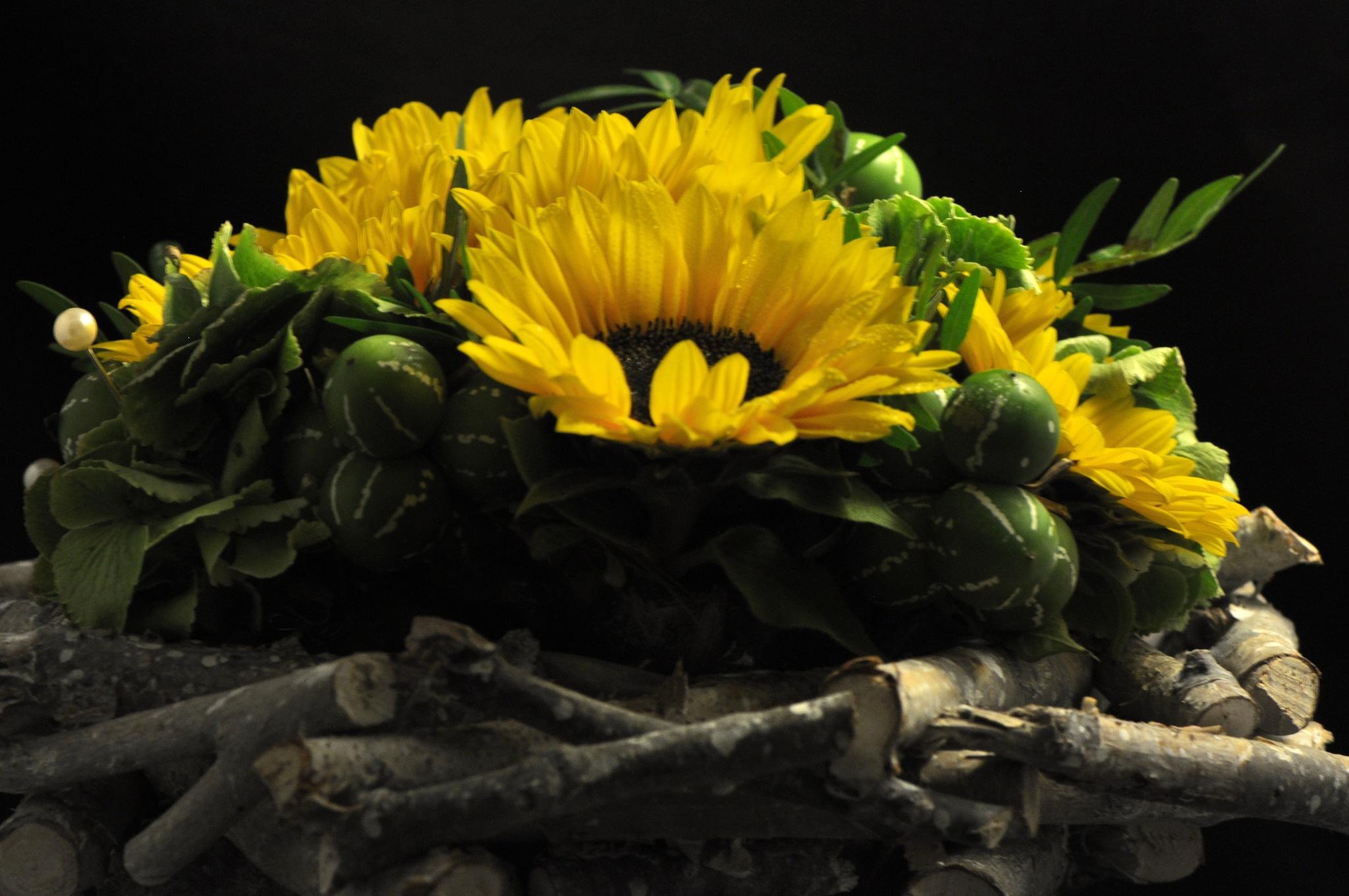 sunflowers by paul wante