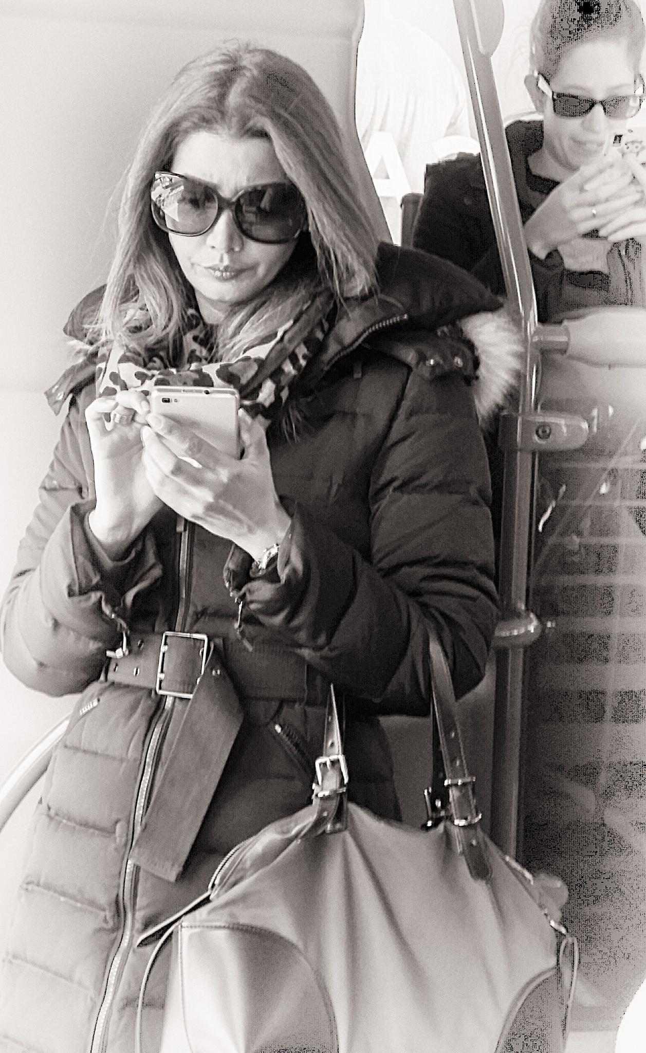 momentos en el bus... by enmafa
