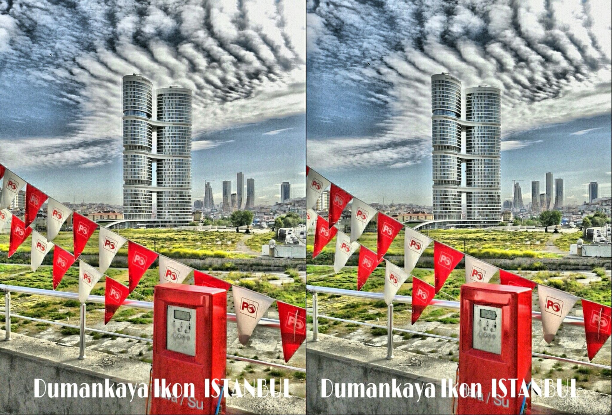 DUMANKAYA IKON - ATASEHIR - ASIAN SIDE OF ISTANBUL by Istanbul 3D Photography