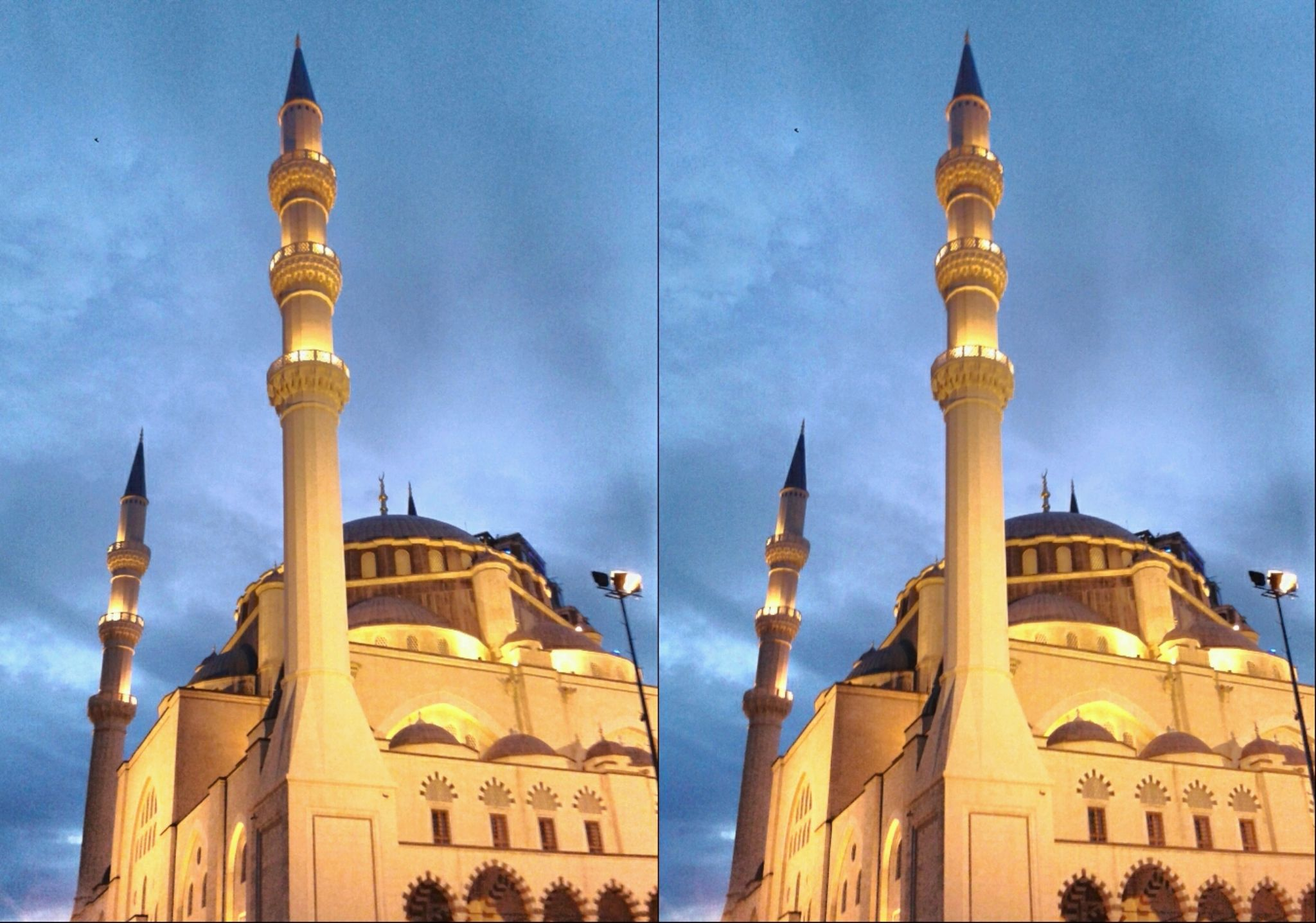 MIMAR SINAN MOSQUE - ATASEHIR - ASIAN SIDE OF ISTANBUL 21.09.2014 by Istanbul 3D Photography