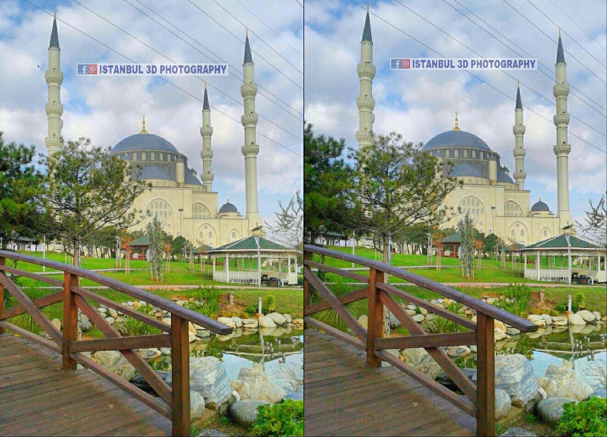 Mimar Sinan Mosque by Istanbul 3D Photography