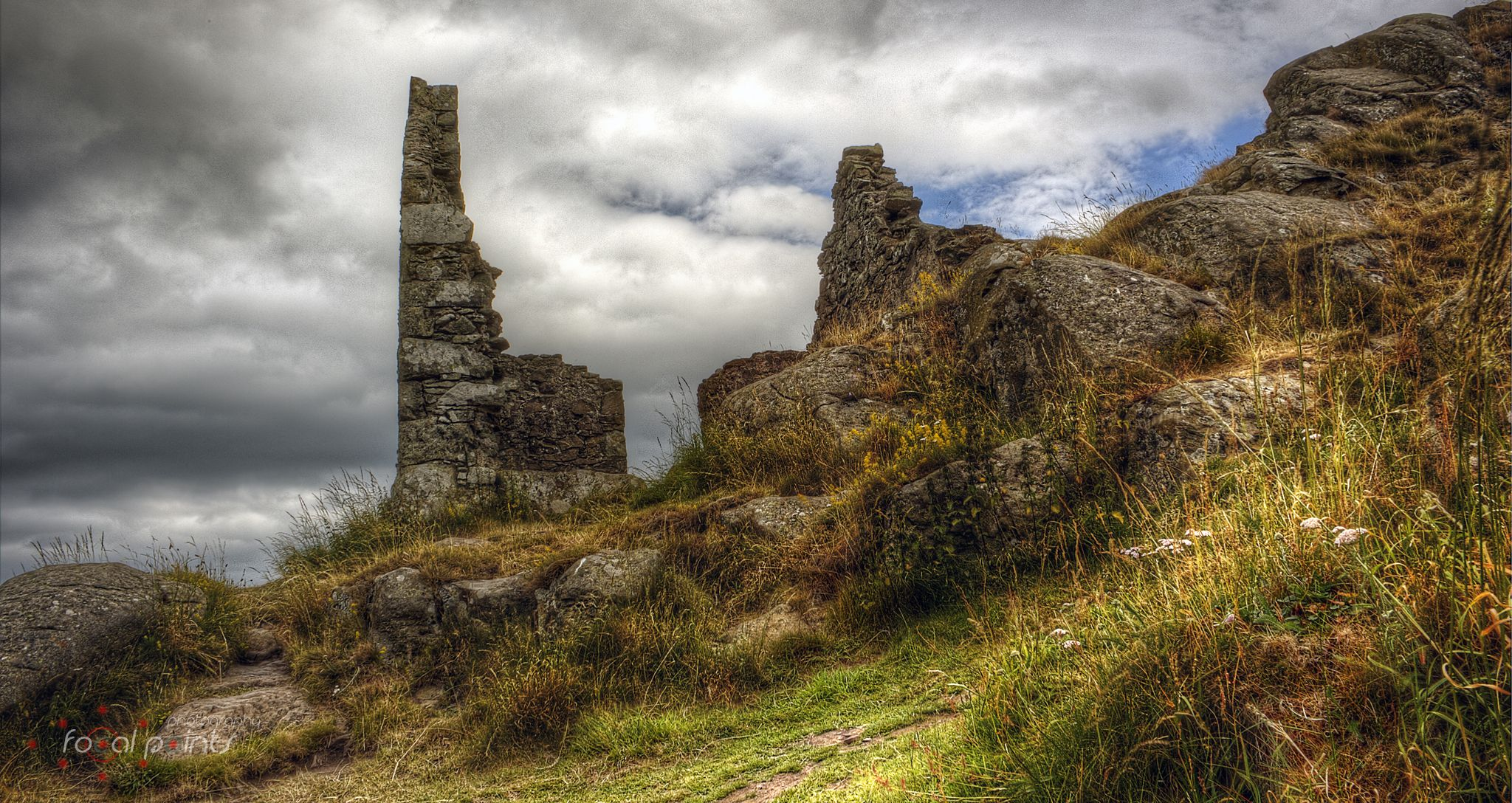 Berwick Law Hill Fort by martin.brand.75