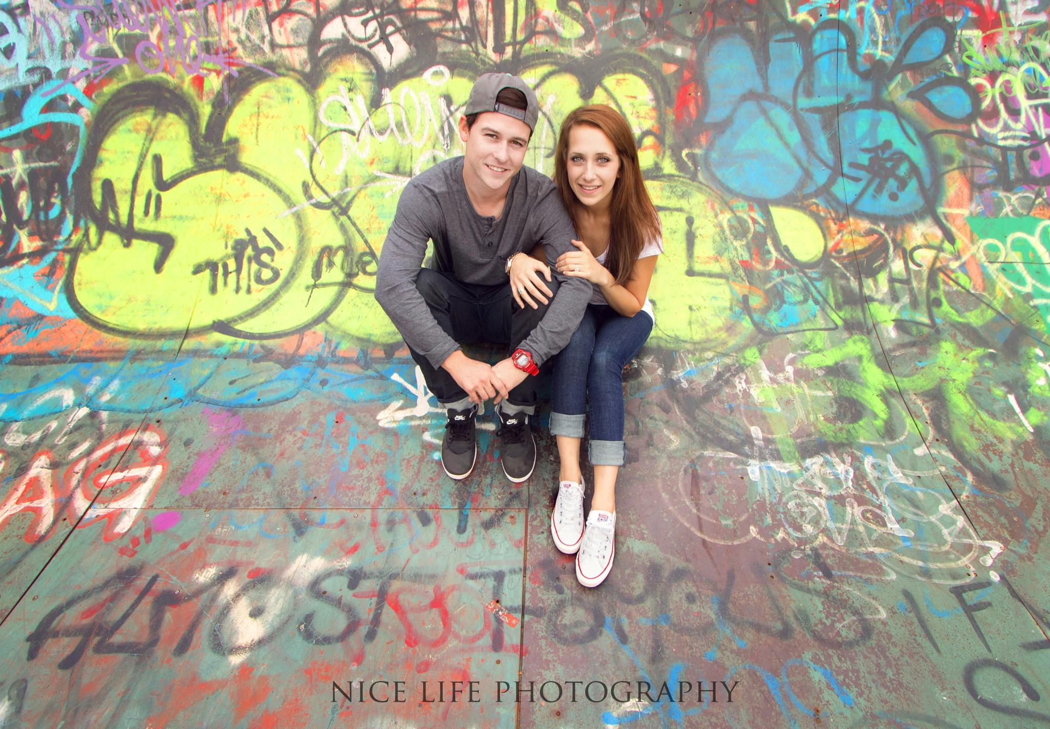 Skate Park Engagement by nicelifephotography