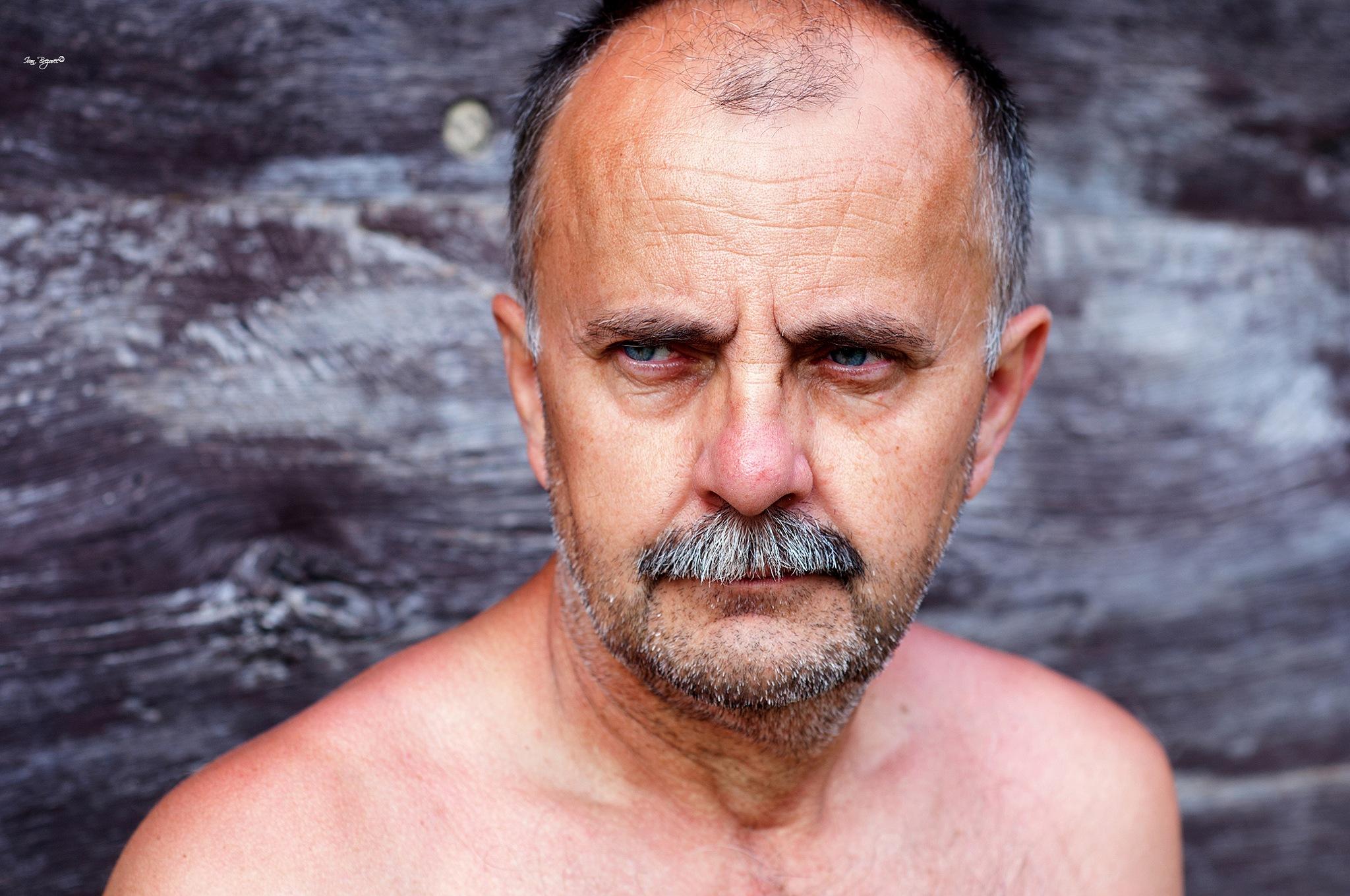 Photo in People #portrait #face #man #male