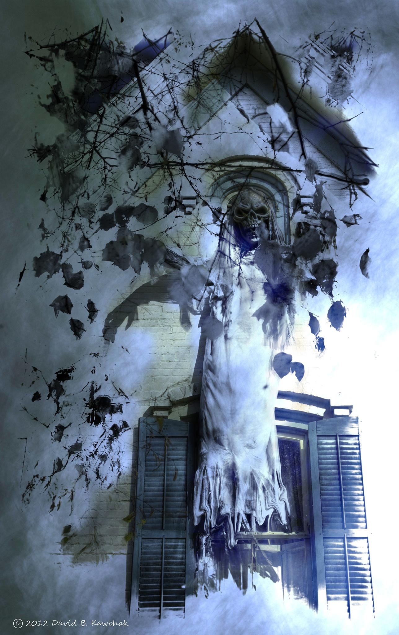 Hanging Ghost by davidbrucekawchak