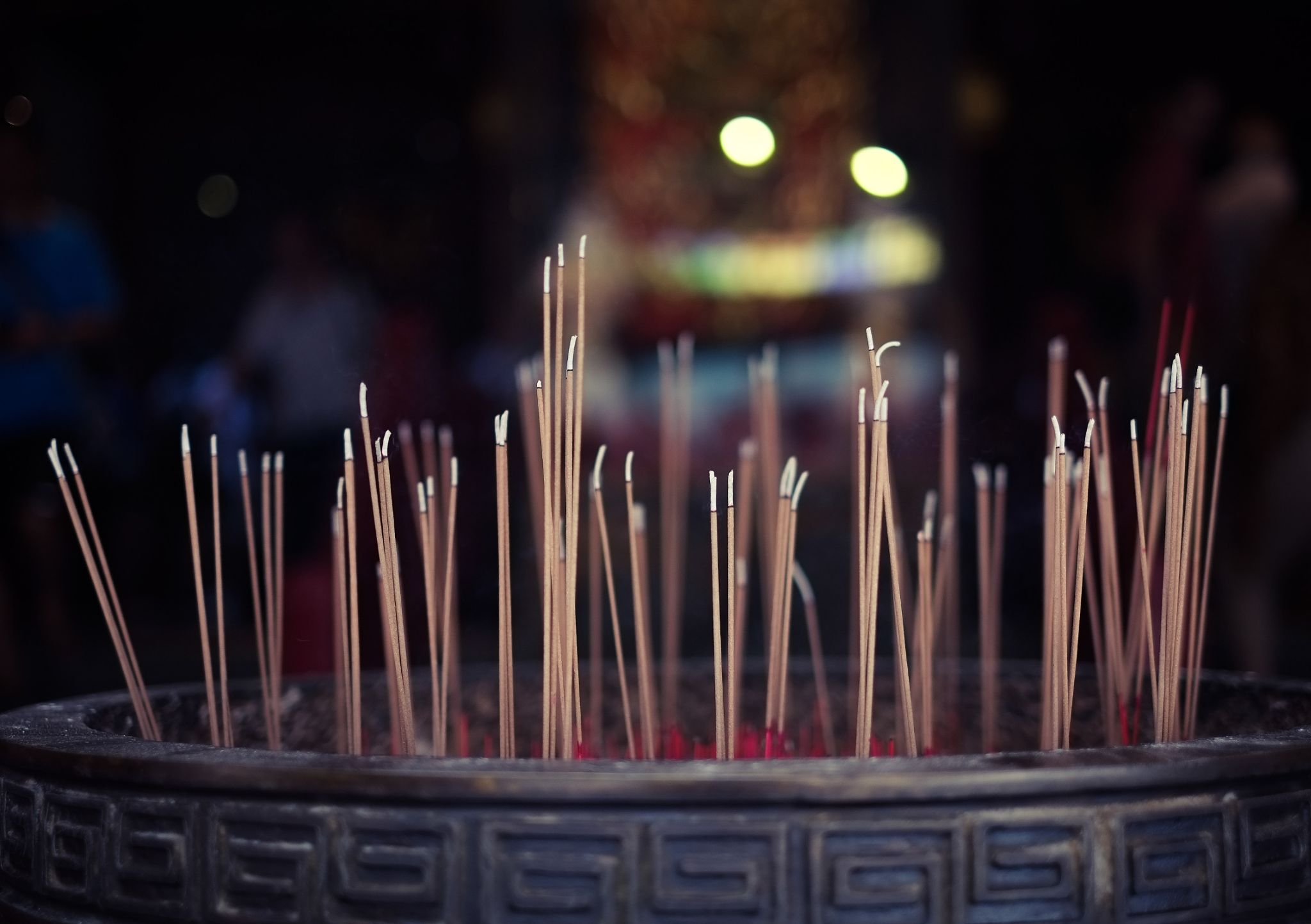 Temple - Incense by Louis Loo