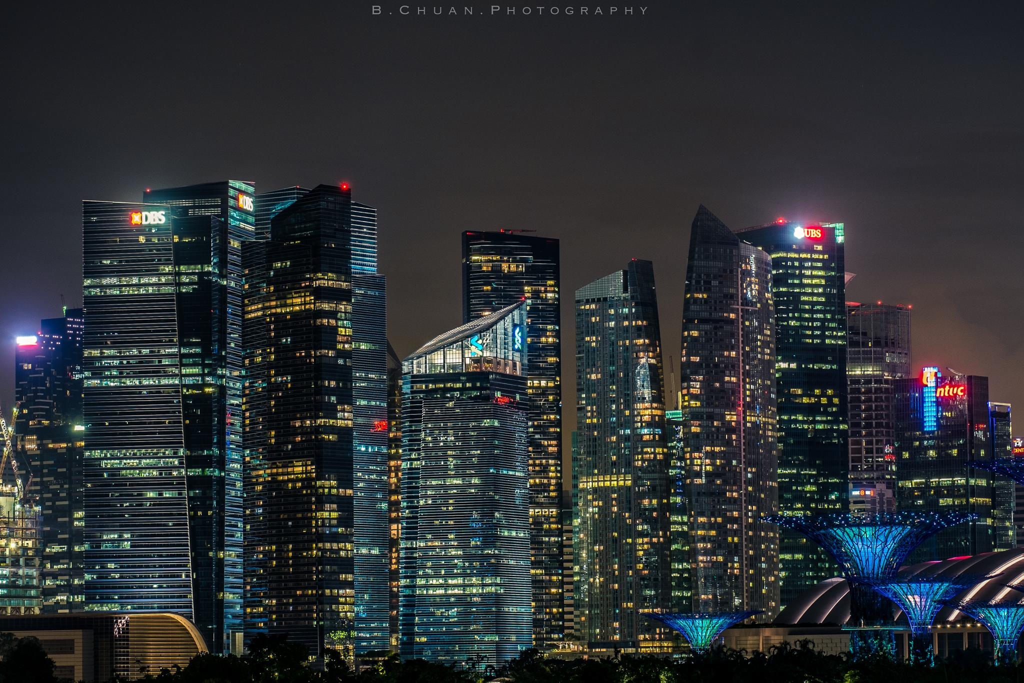 Singapore Urbanscape by Louis Loo