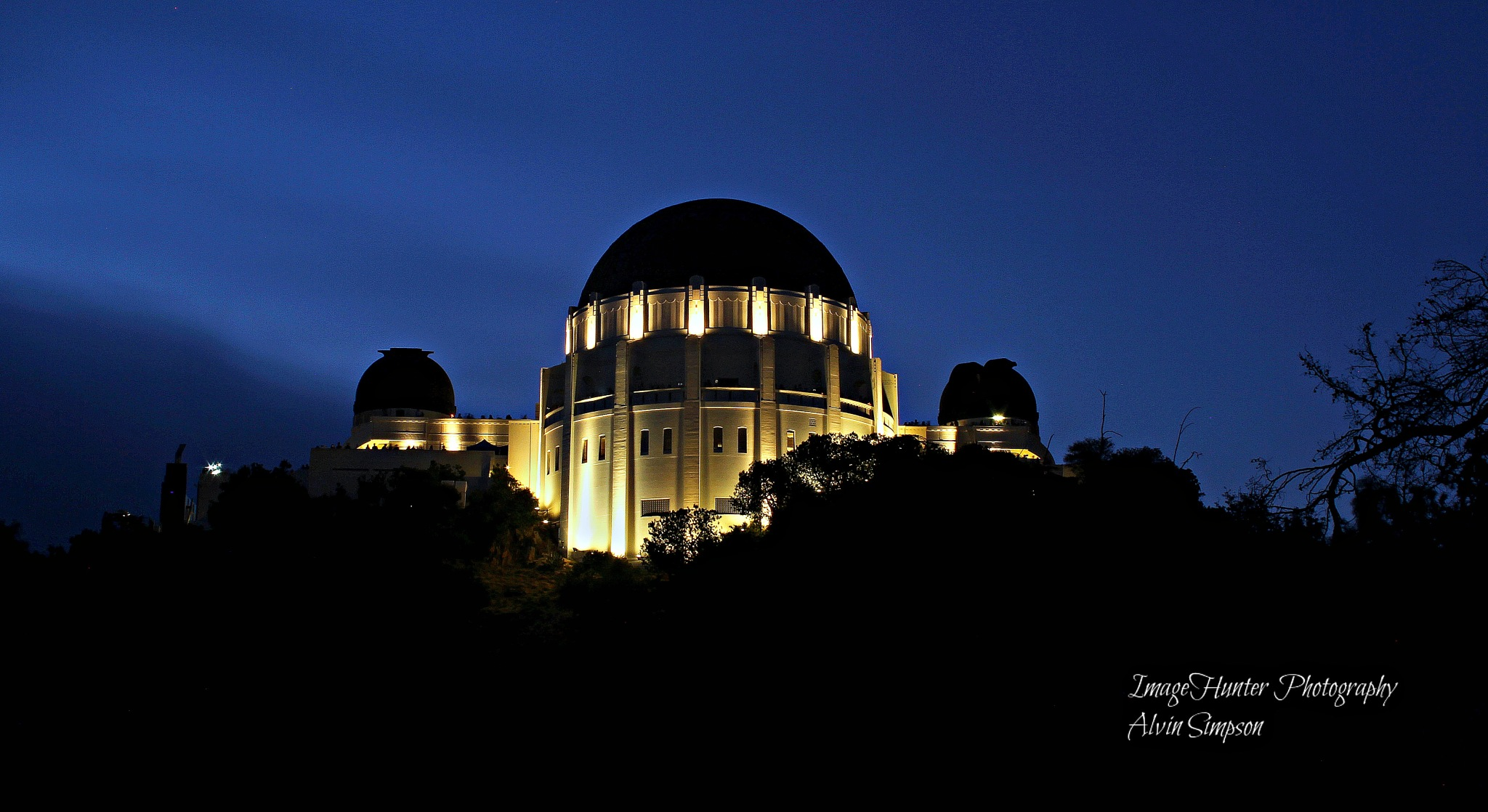 Griffith Observatory by Alvin Simpson