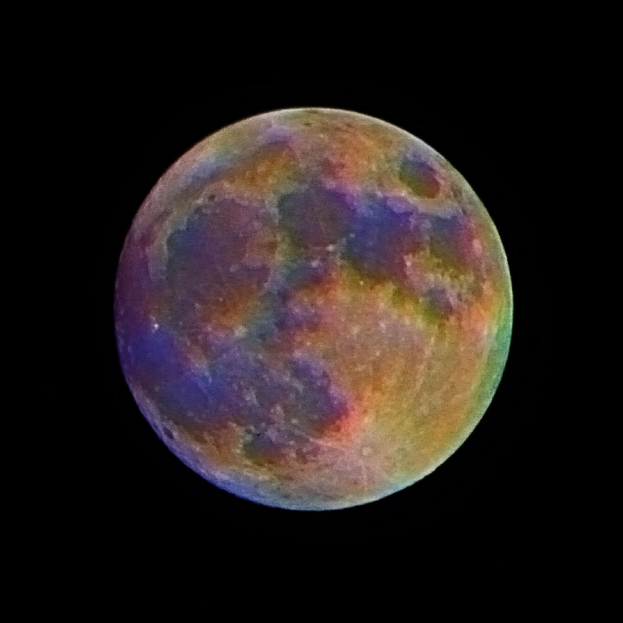Fullish Moon by Sean Thompson