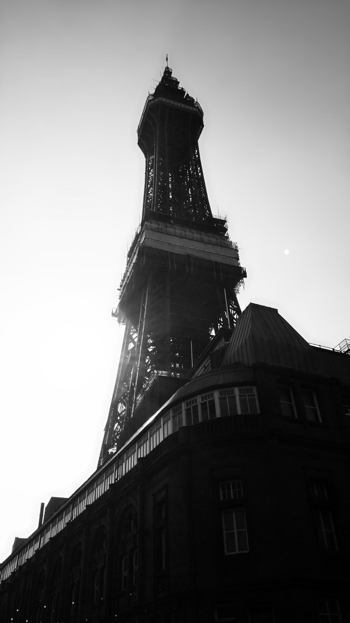 Eiffel Tower in Blackpool by Sean Thompson