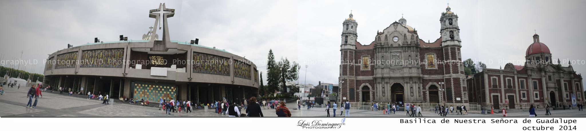Basilica de Guadalupe by elkalidominguez
