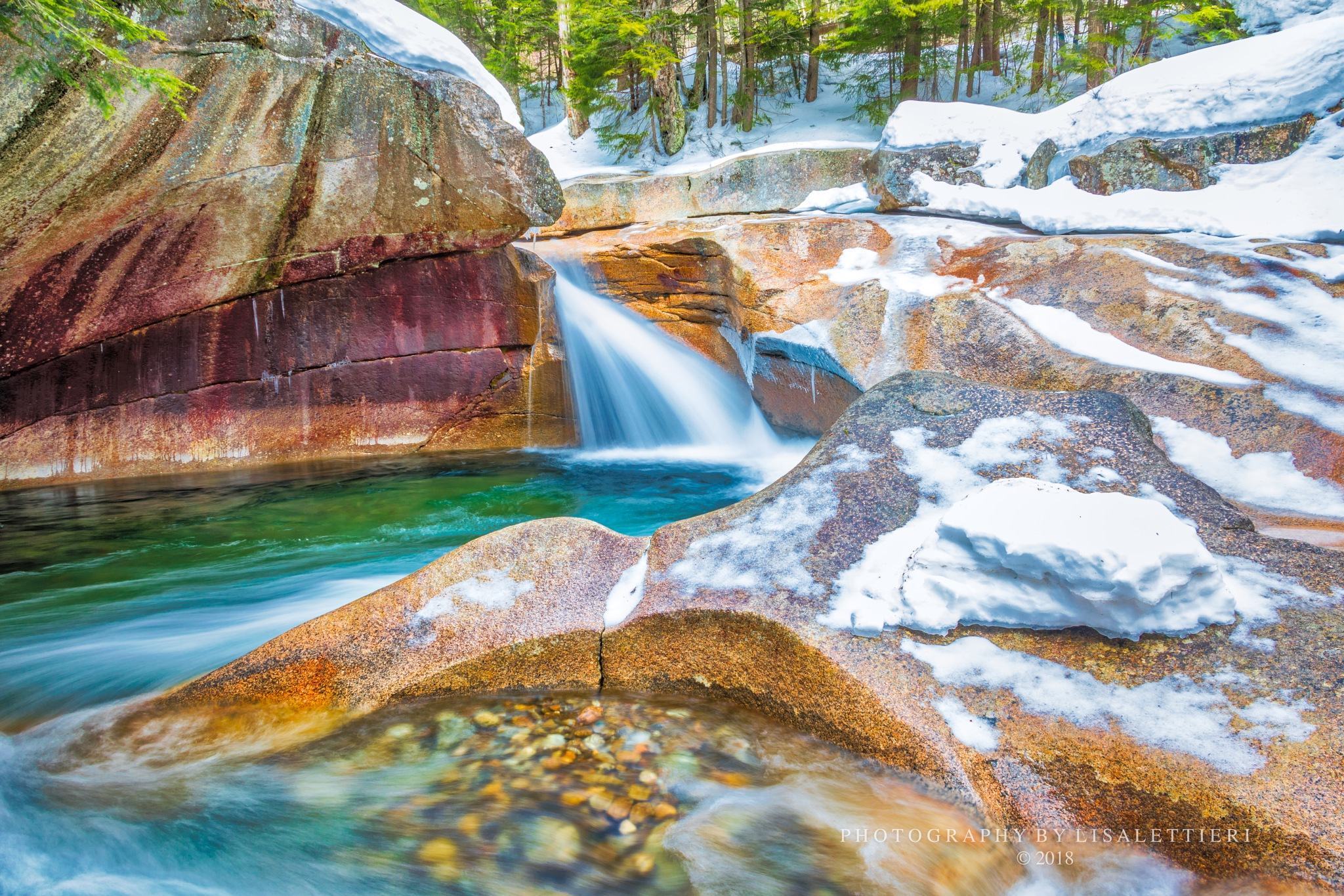 Winter at The Basin by lisalettieri5