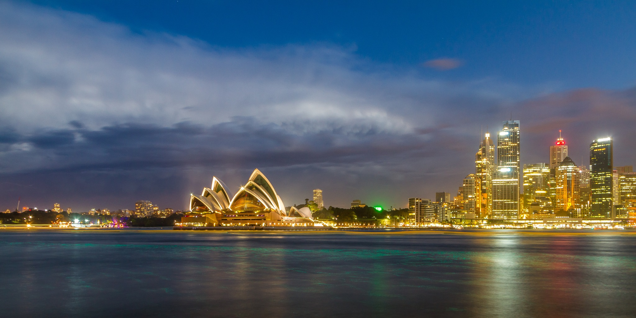 Sydney Lights by lisalettieri5