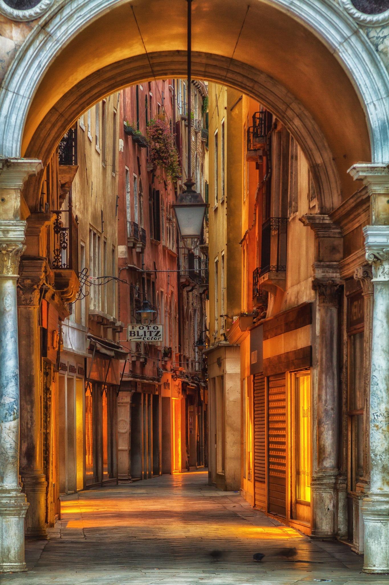 Venice at Dawn by lisalettieri5