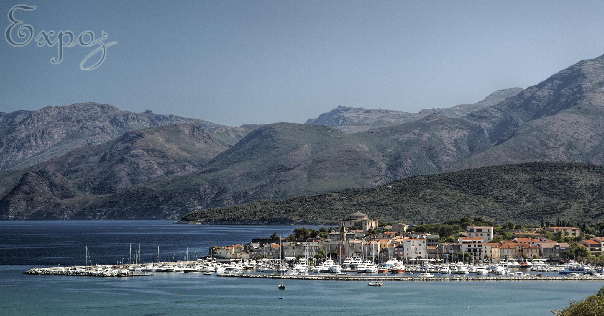 Saint Florent Corsica by Expo'Z