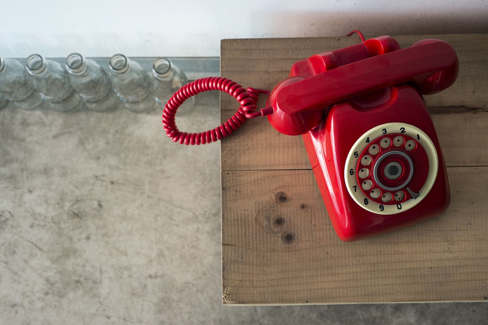 Red phone by ducato