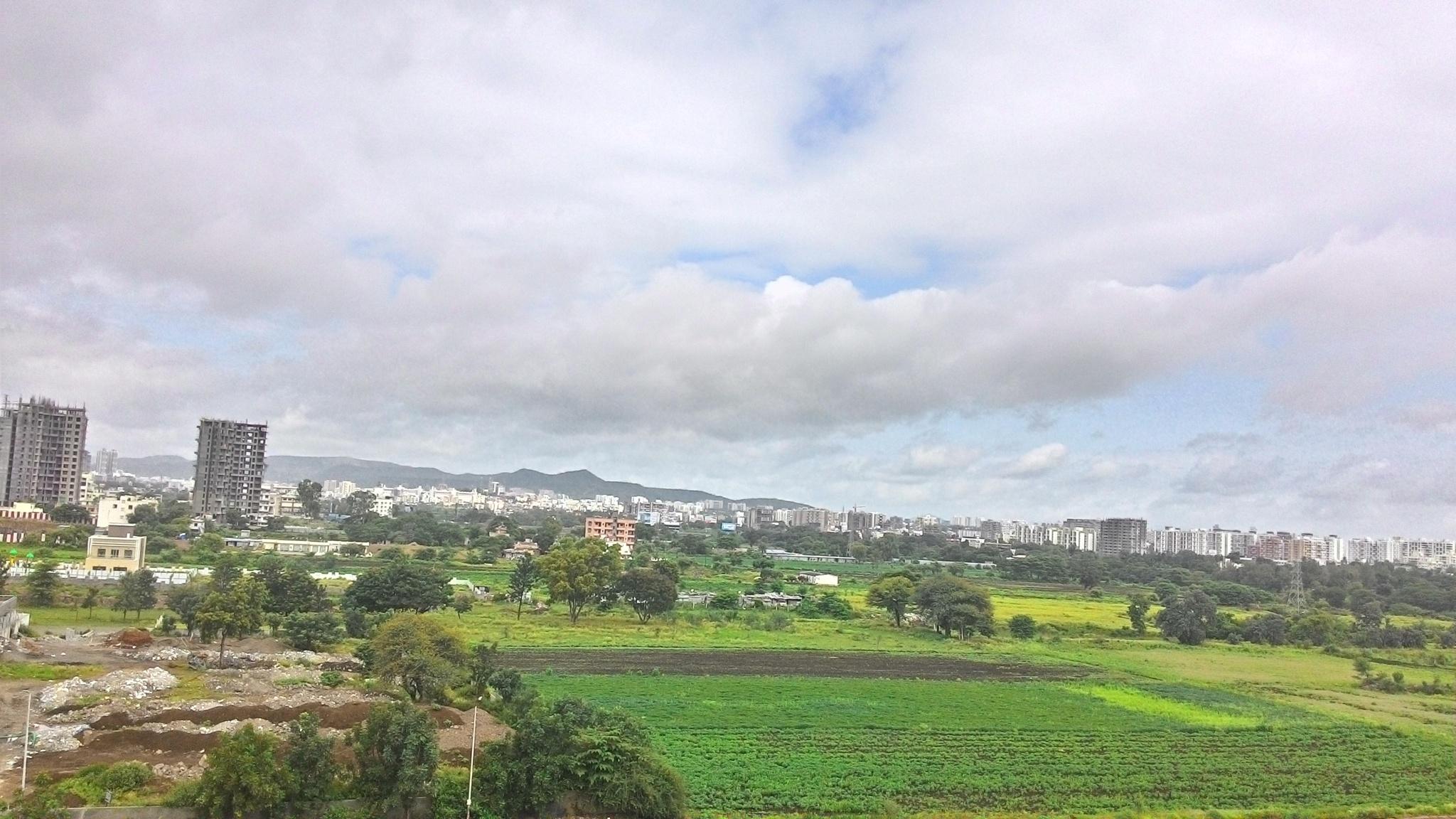 Beautiful View Of Balewadi Pune by gedamicrahul