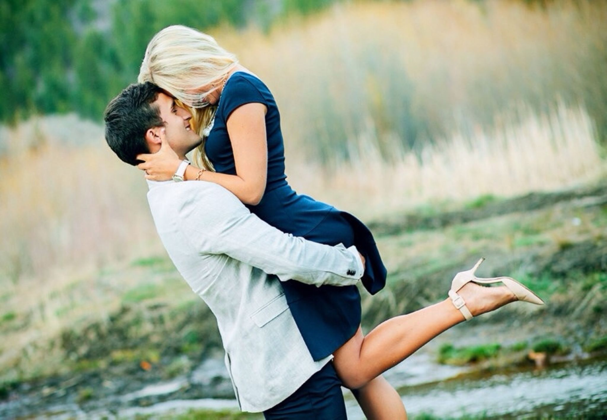 Flirty and Fun Utah Engagement Shoot by madmariephotography