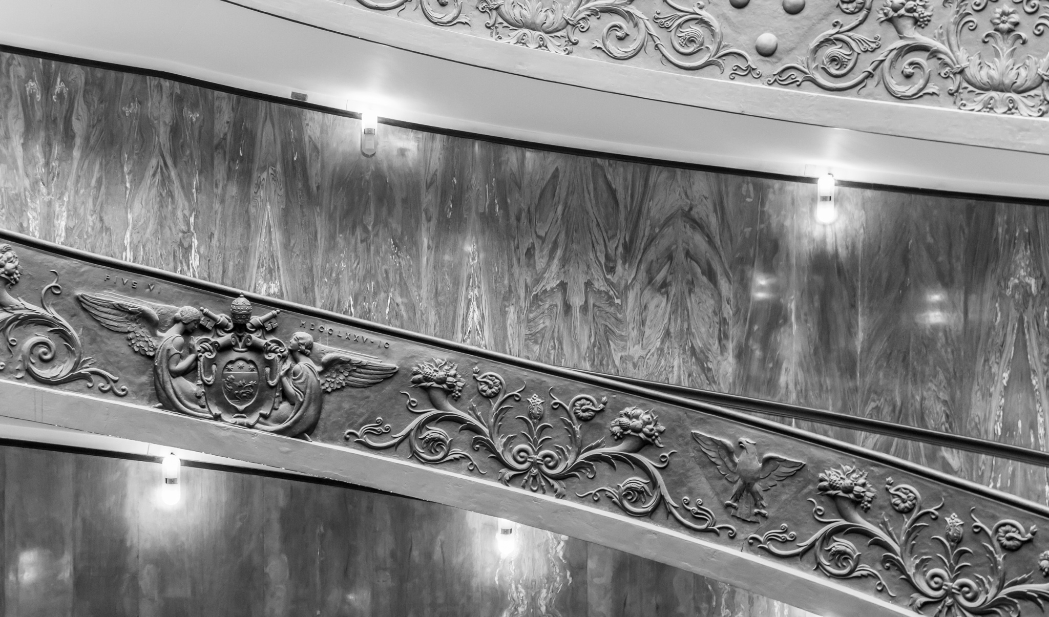 Musei Vaticani architectural detail by Sami Tiainen