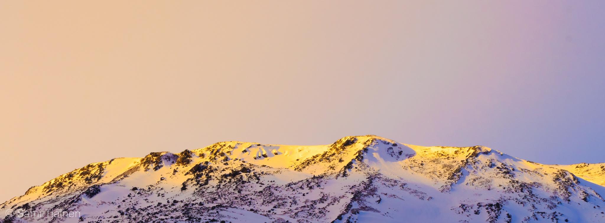 Golden mountains by Sami Tiainen