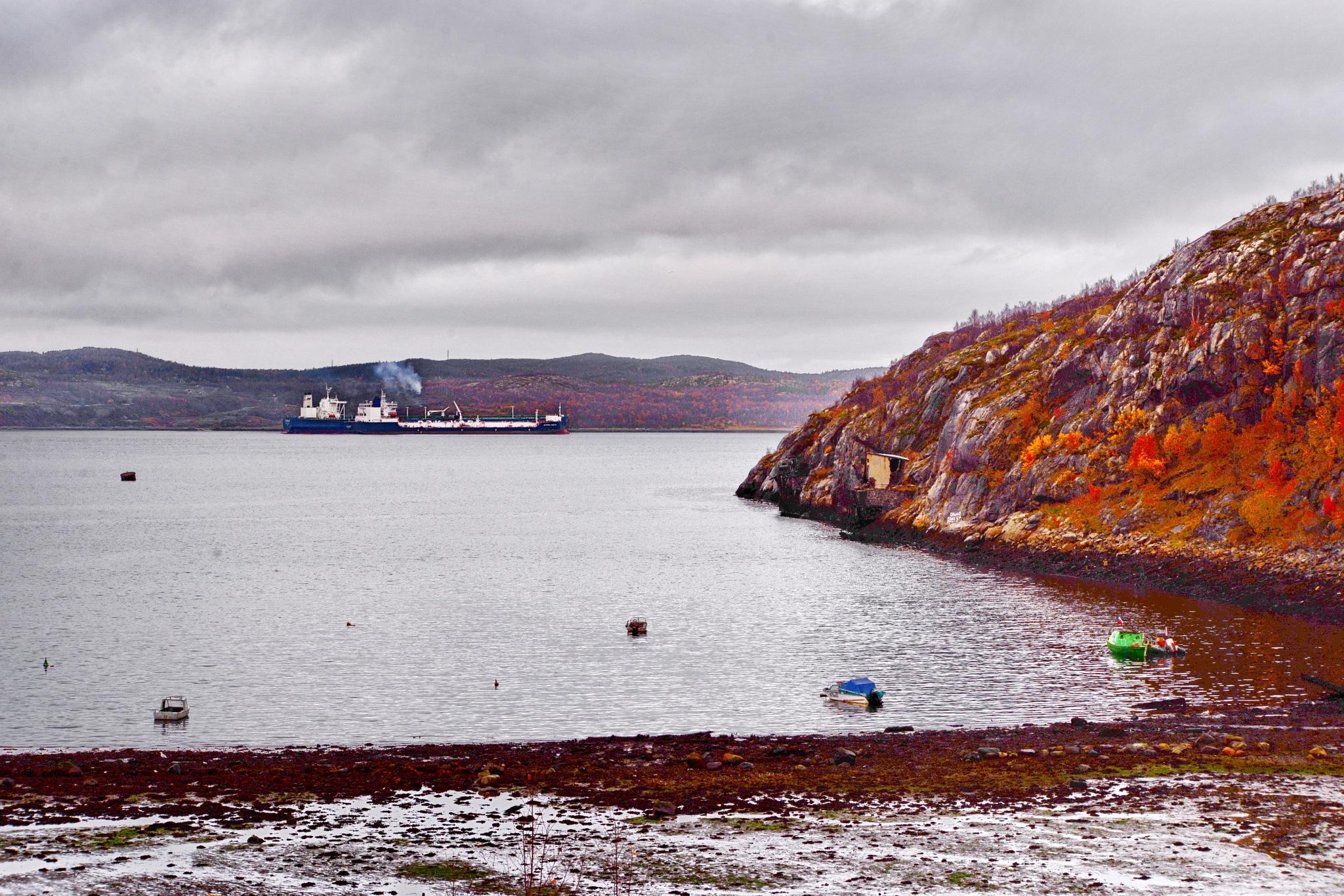 Осень, отлив by vadsever58